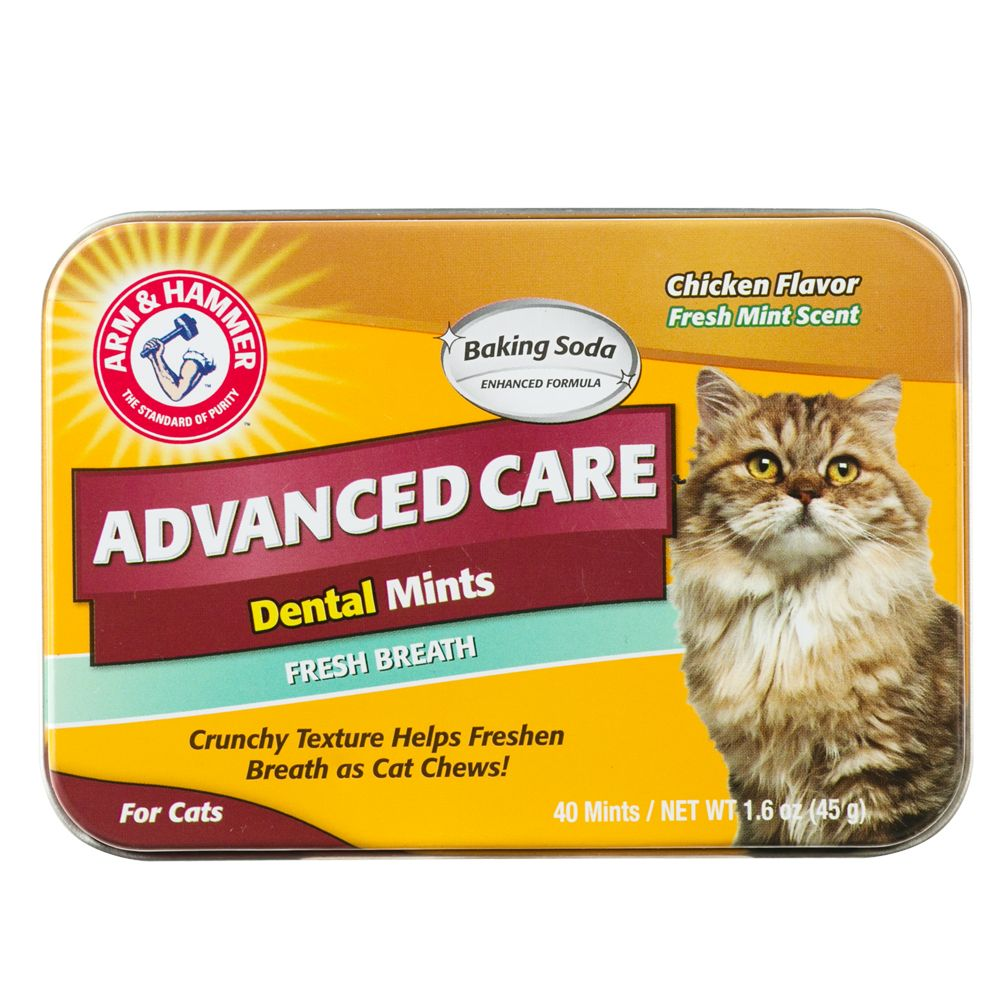 Arm And Hammer Advanced Care Fresh Breath Cat Mints Arm Hammer