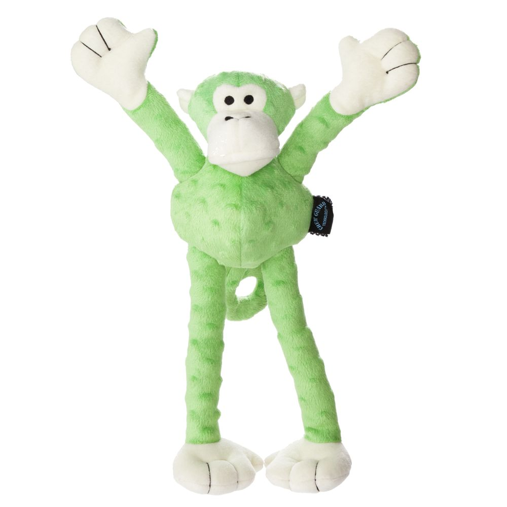 Top Paw, Tuff Chewguard Monkey Dog Toy - Squeaker