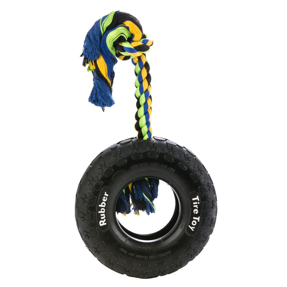 Top Paw, Tuff Tire Dog Toy size: 10 in 5230935