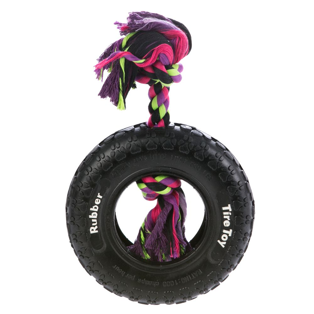 Top Paw, Tuff Tire Dog Toy size: 8 in 5230936