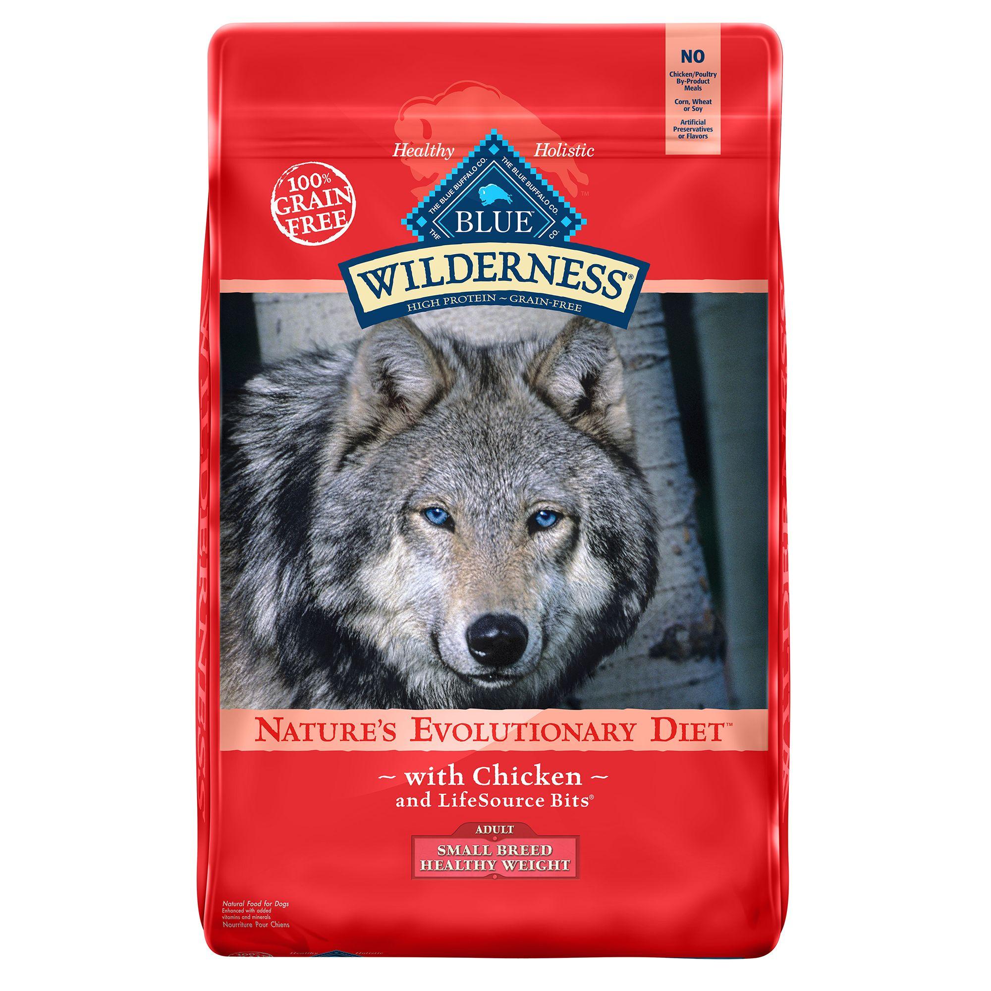 Blue Wilderness® Grain Free Chicken Healthy Weight Small