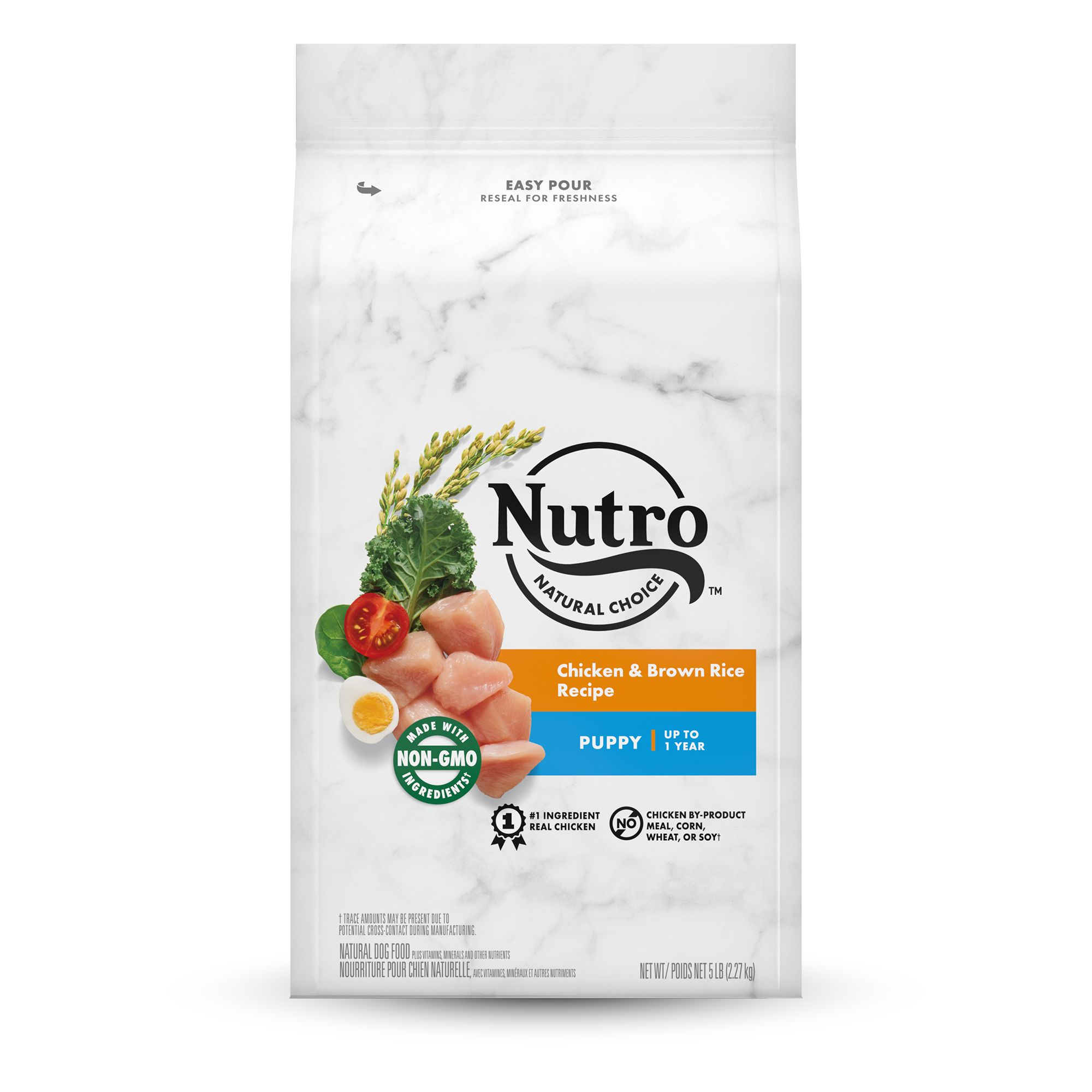 Nutro® Chicken, Brown Rice and Oatmeal Puppy Food size: 5 Lb 5231185