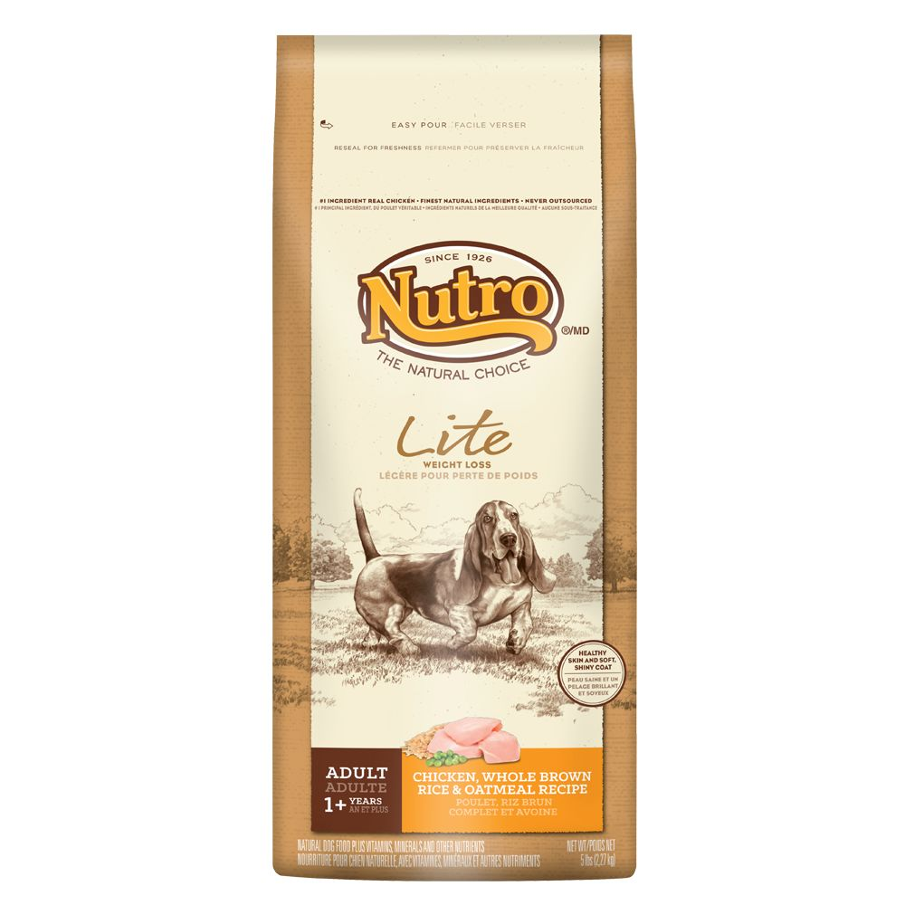 Nutro® Lite Chicken, Brown Rice and Oatmeal Weight Loss Adult Dog Food 5231188