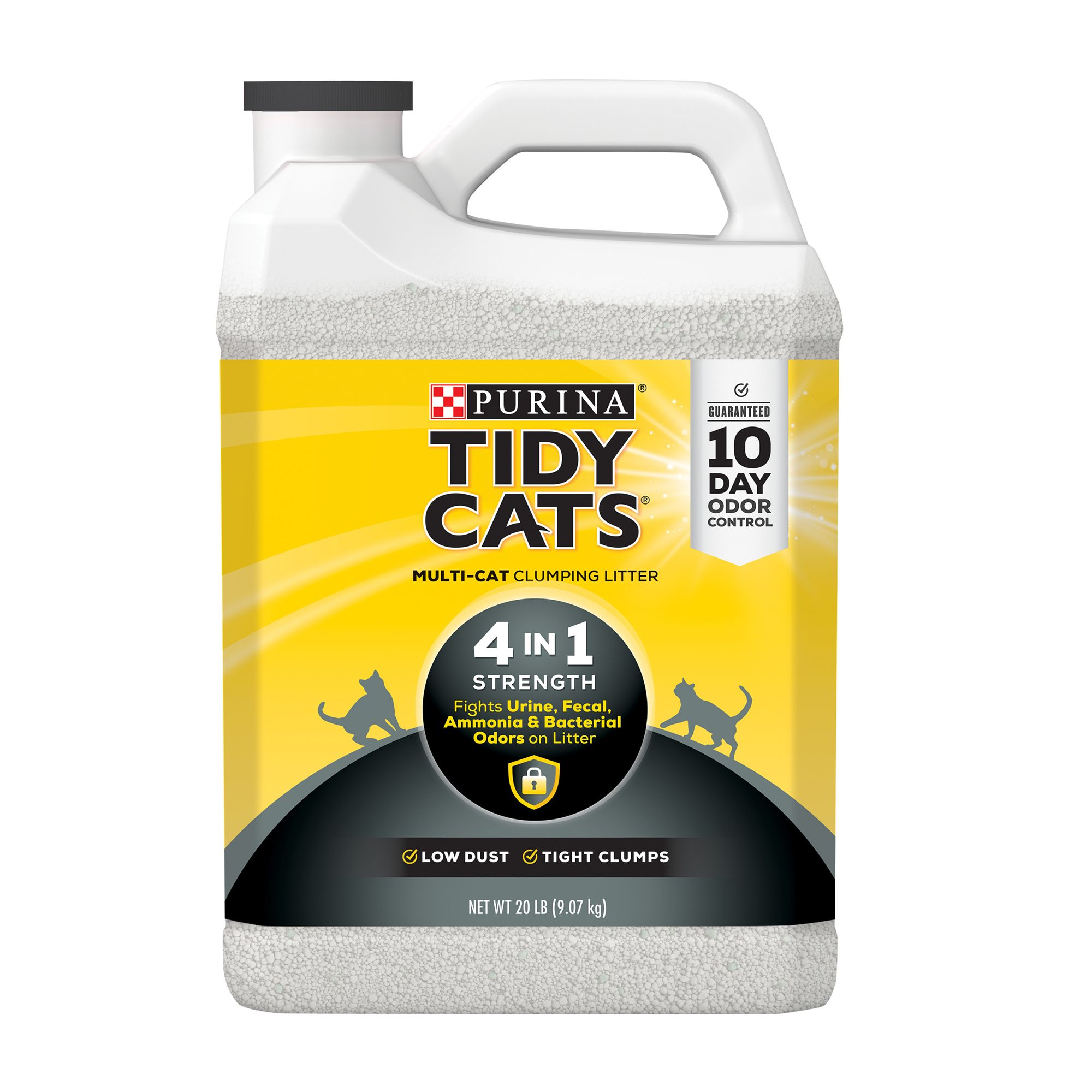 Purina Tidy Cats 4 In 1 Strength Cat Litter Clumping Multi Cat Size 20 Lb
