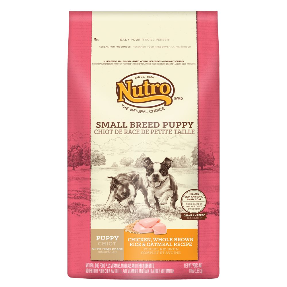 Nutro® Chicken, Brown Rice and Oatmeal Small Breed Puppy Food size: 8 Lb 5231412