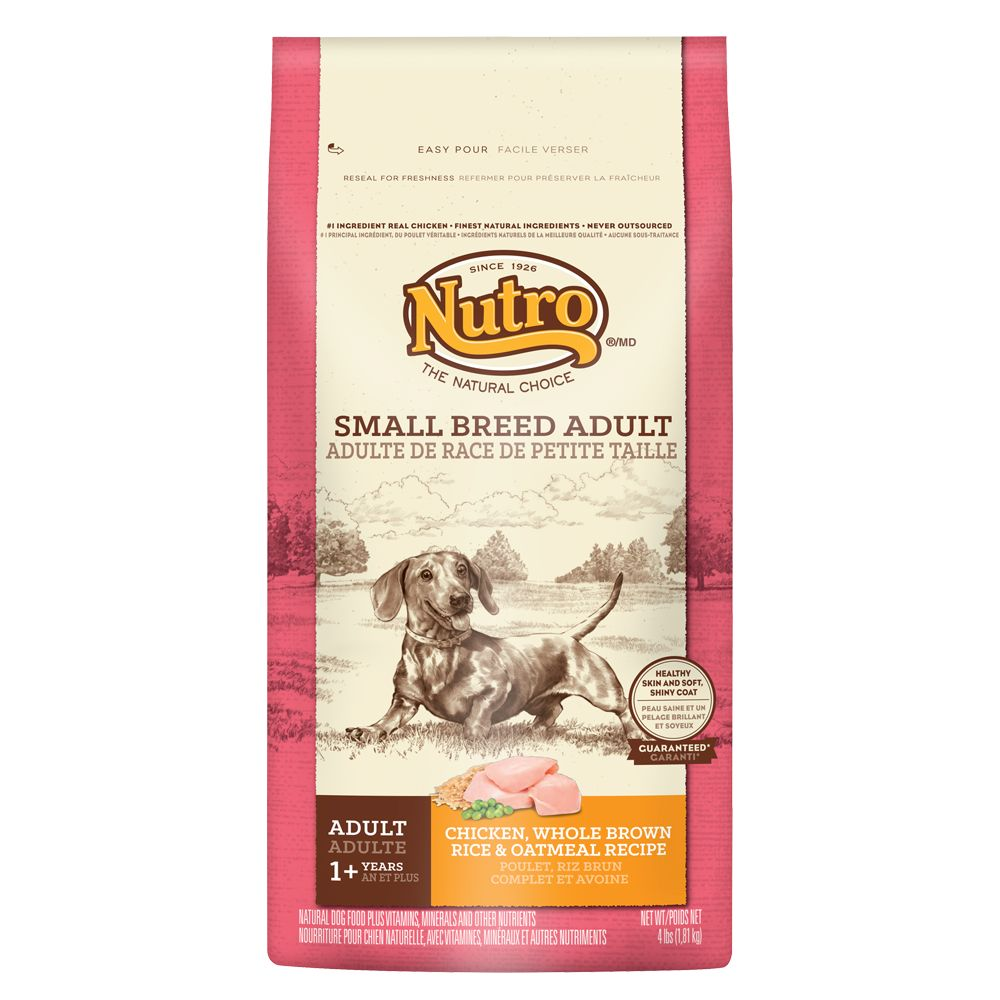 Nutro® Chicken, Brown Rice and Oatmeal Small Breed Adult