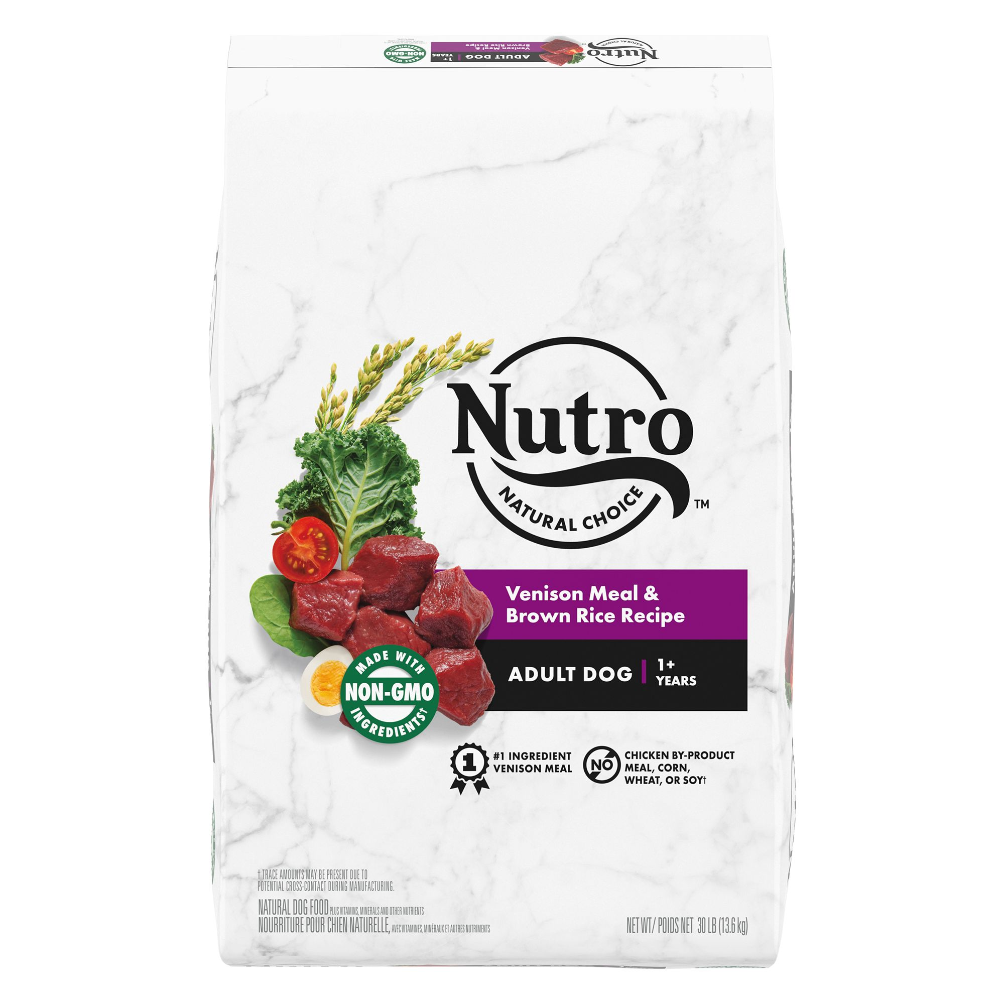 Nutro® Adult Dog Food - Natural, Venison Meal, Brown Rice and Oatmeal 5231657