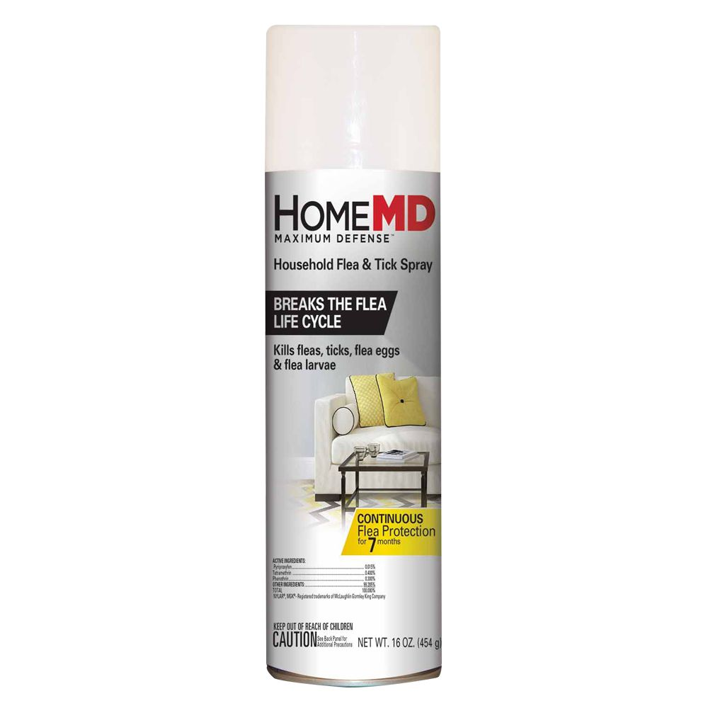Home Md Maximum Defense Household Flea And Tick Spray
