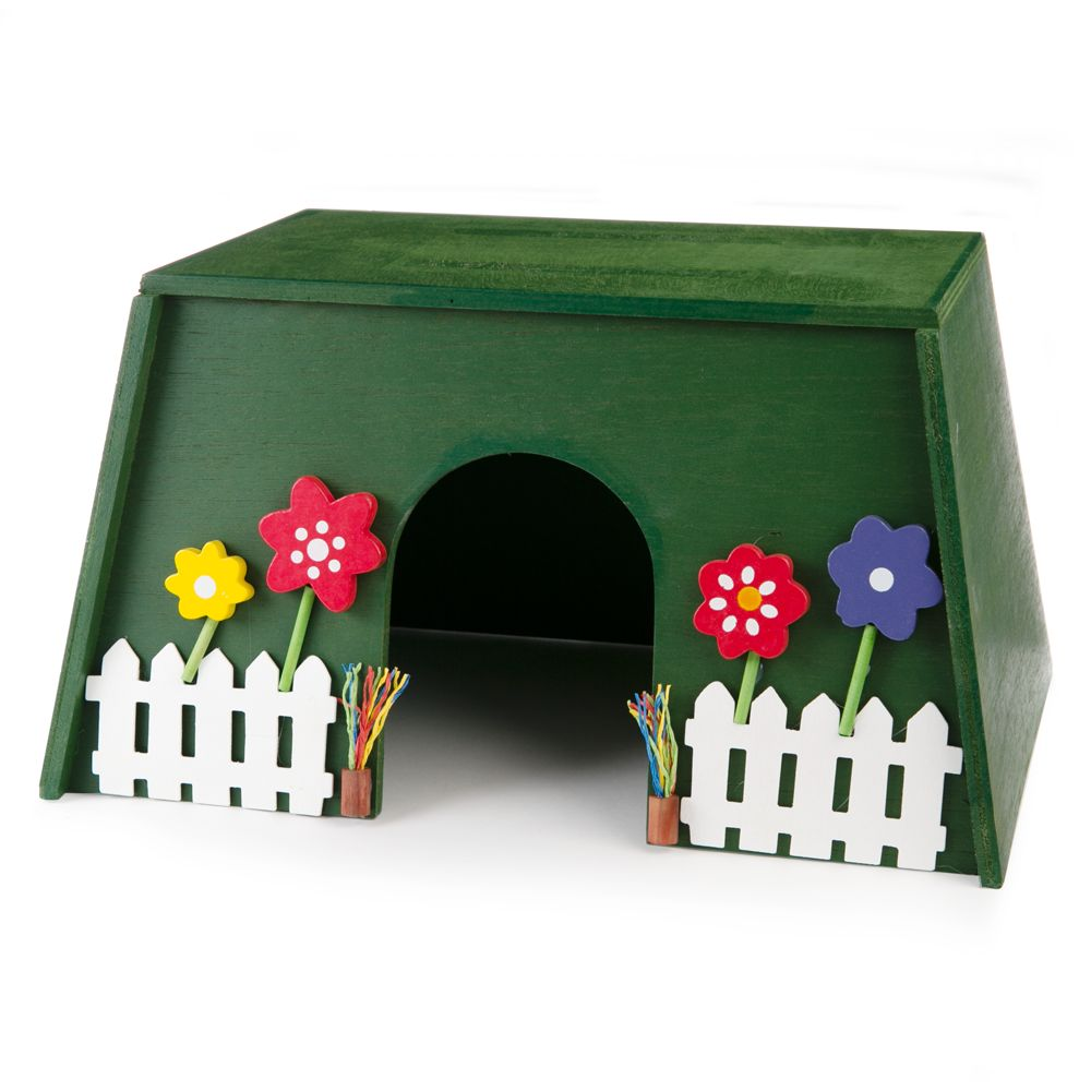 National Geographic, Garden Wooden Hideout Small Animal size: Small 5231979