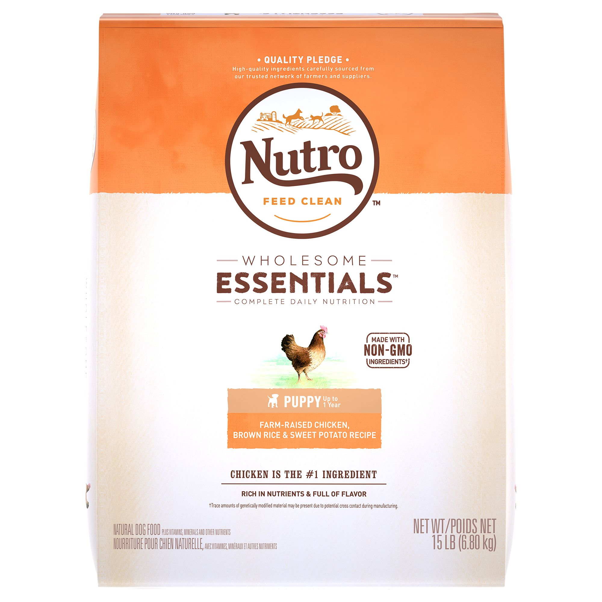 Nutro® Chicken, Brown Rice and Oatmeal Puppy Food size: 15 Lb 5232055
