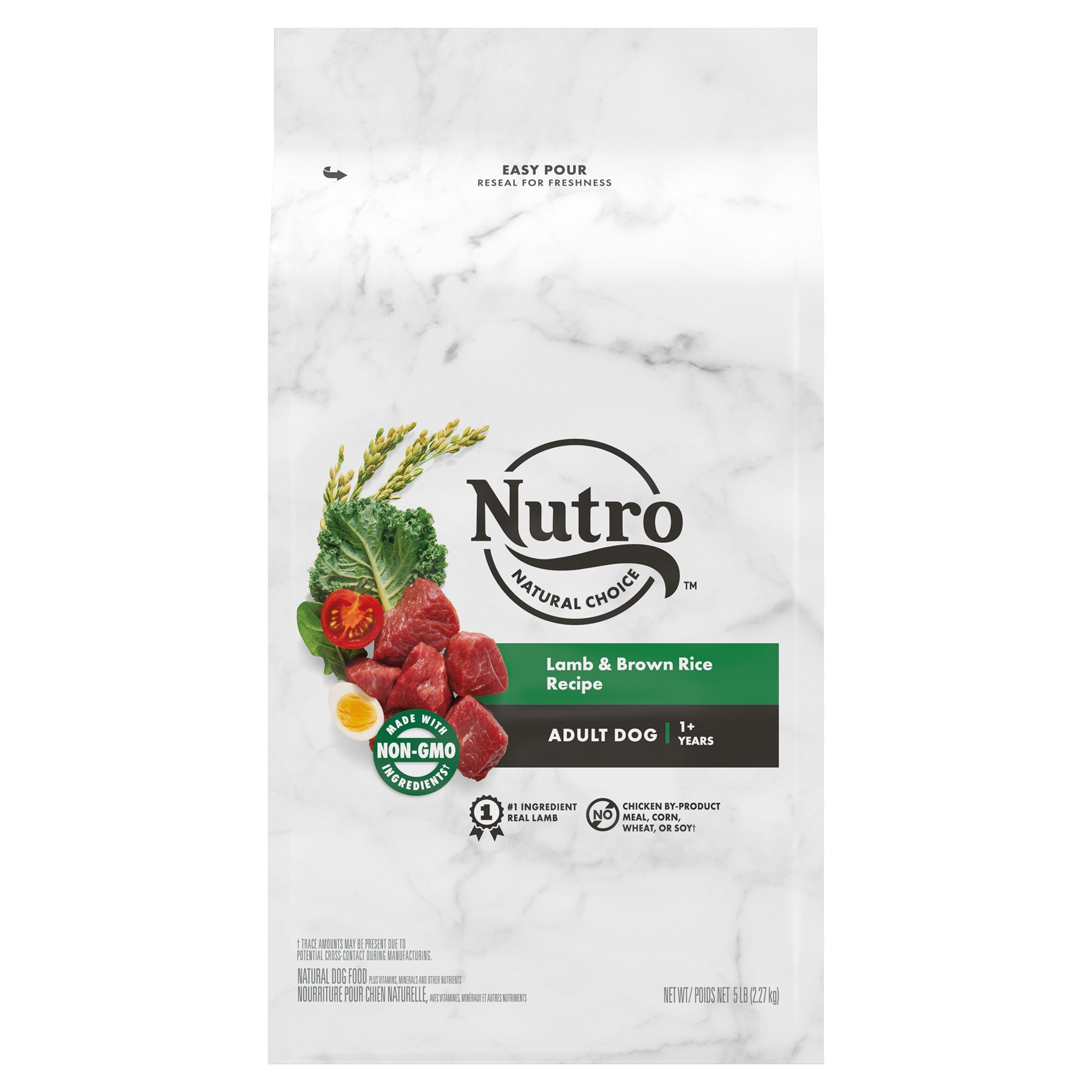 Nutro® Adult Dog Food - Natural, Lamb and Rice size: 5 L
