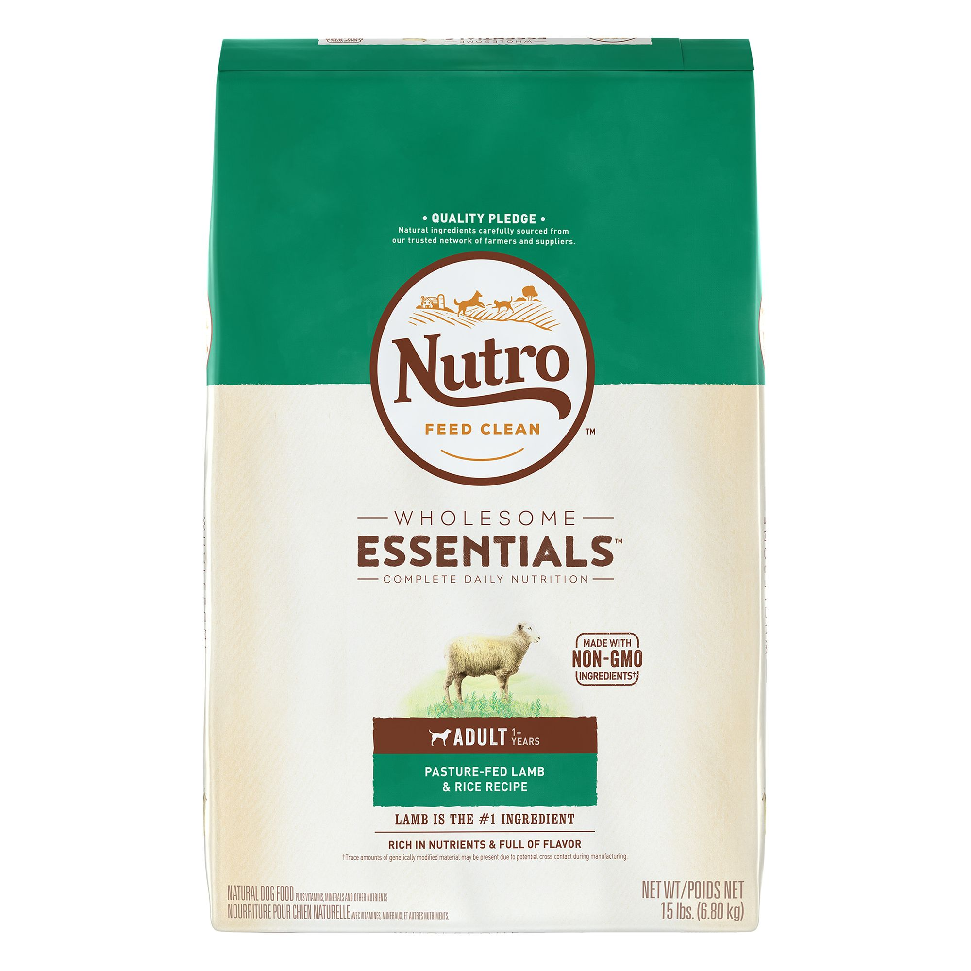 Nutro® Adult Dog Food - Natural, Lamb and Rice size: 15