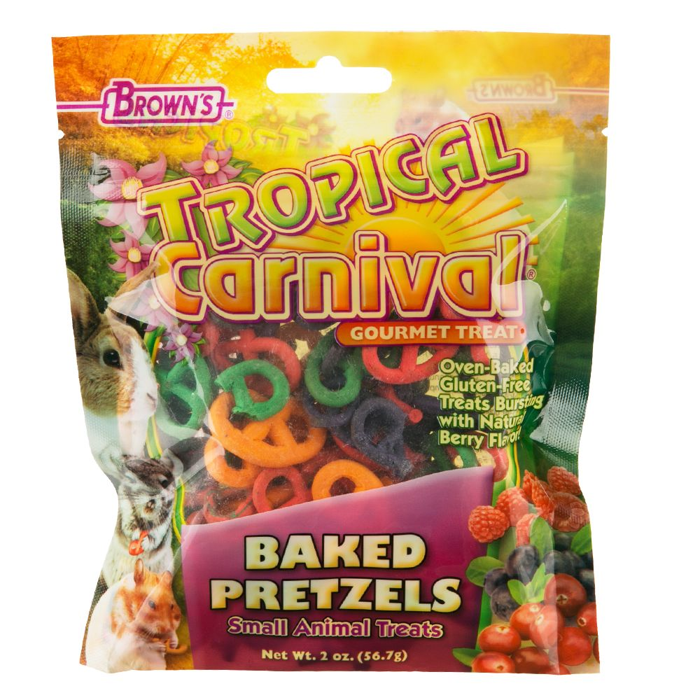 Tropical Carnival Baked Pretzel Treat Size 2 Oz