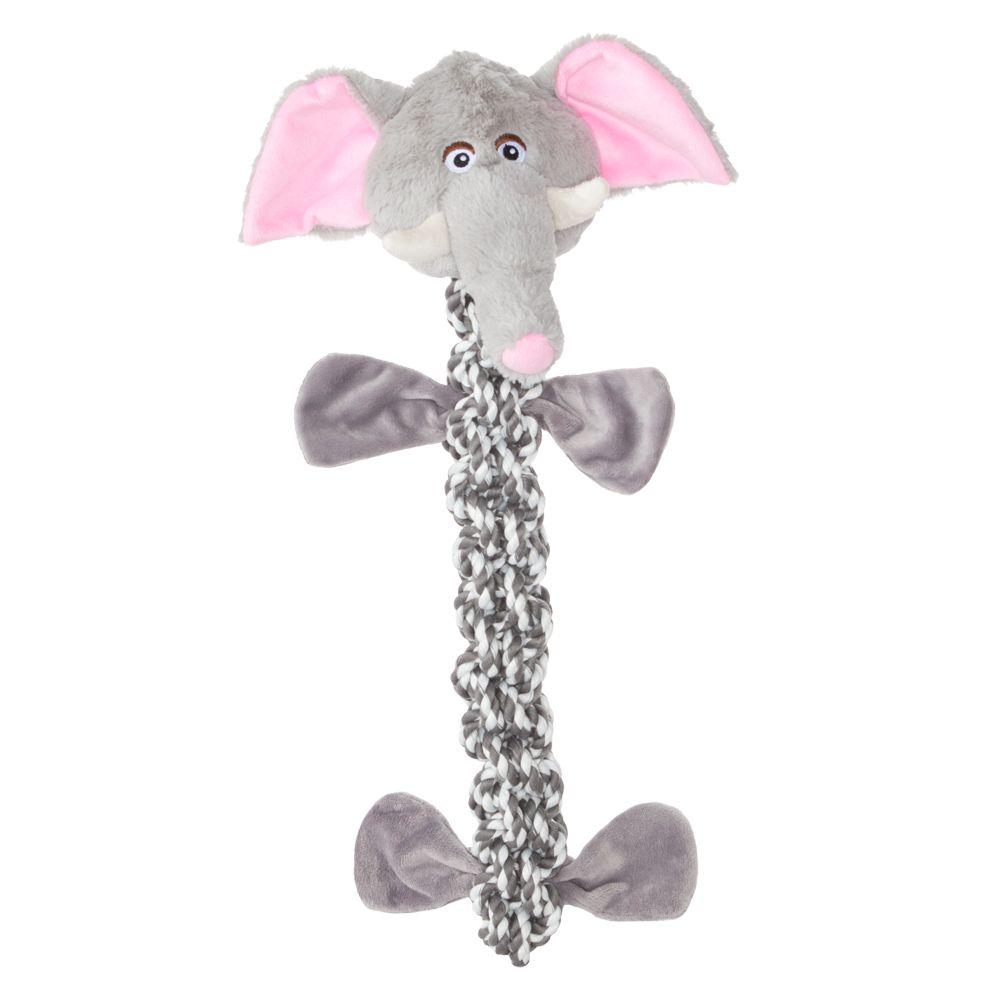 Top Paw® Safari Elephant Dog Toy - Crinkle
