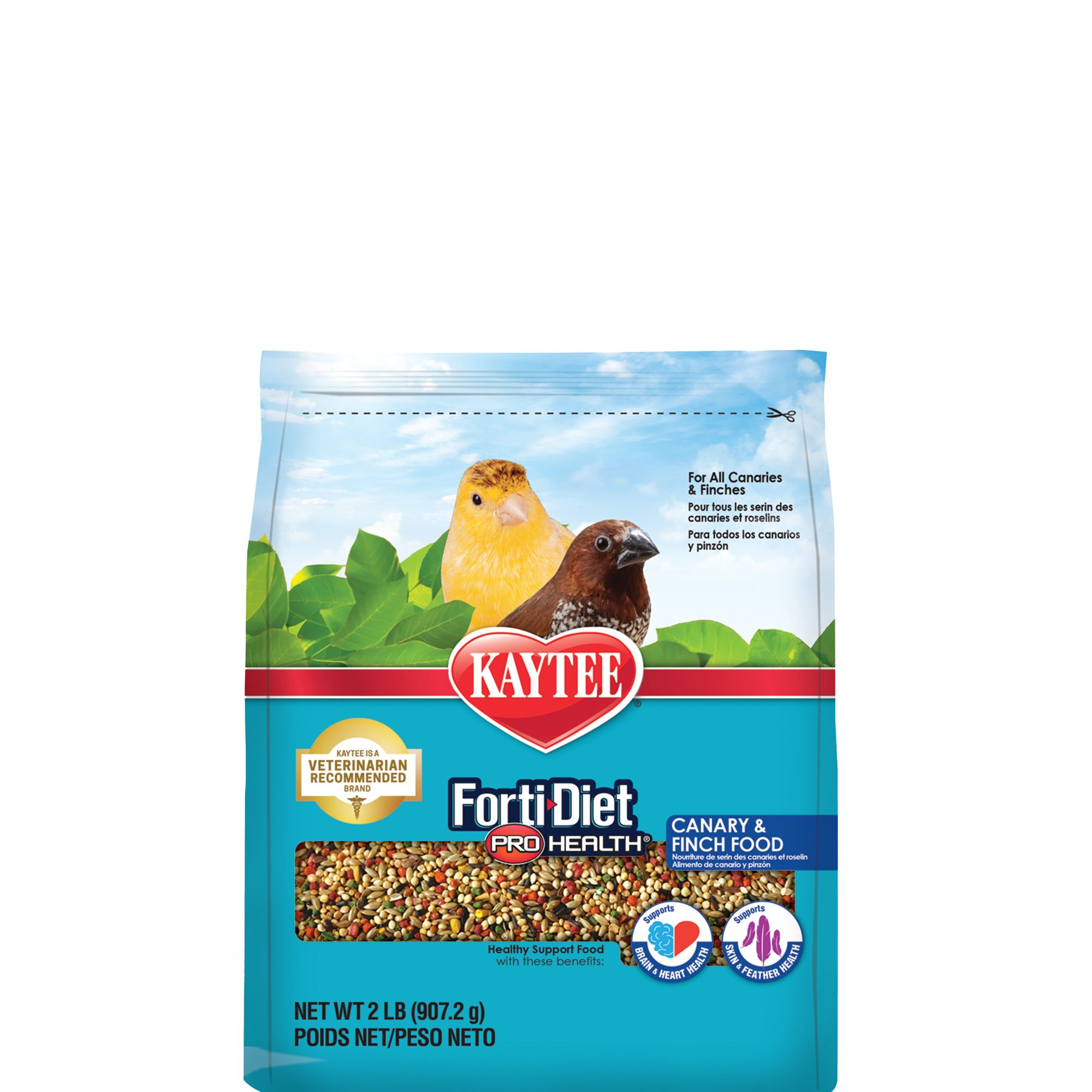 Kaytee Forti-Diet Pro Health Canary and Finch Food size: 2 Lb 5232921