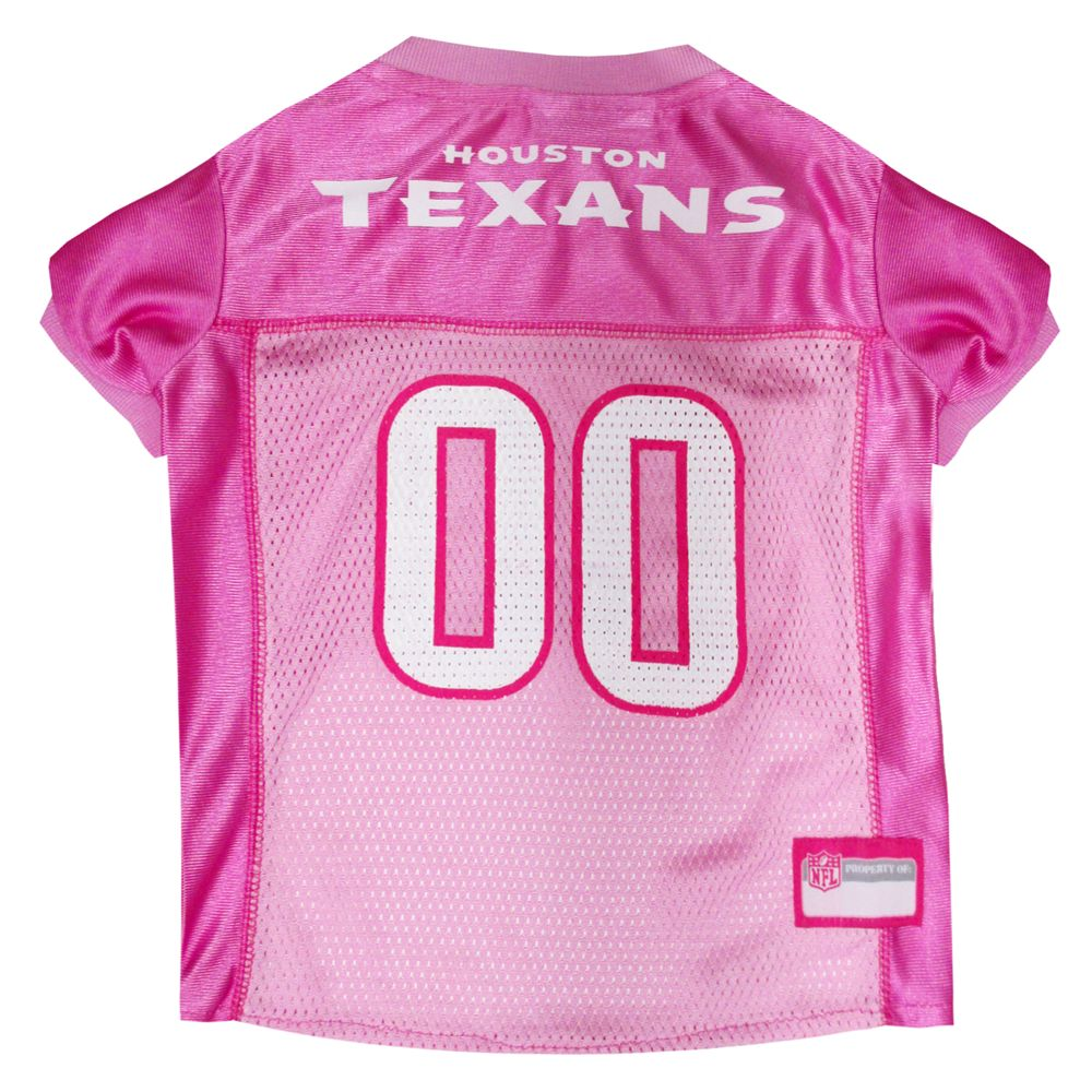 Houston Texans NFL Jersey size: X Small, Pink