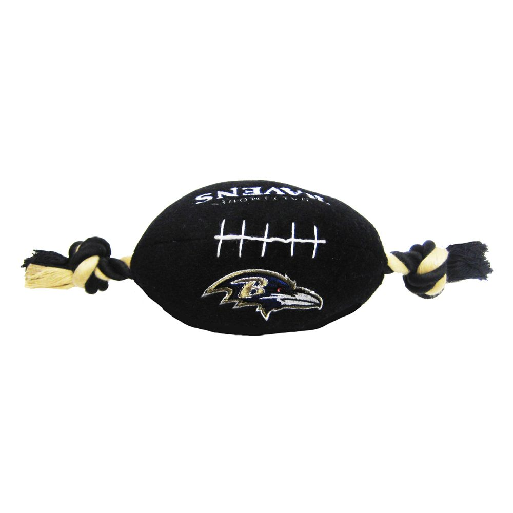 Baltimore Ravens NFL Football Dog Toy, Pets First 5233932