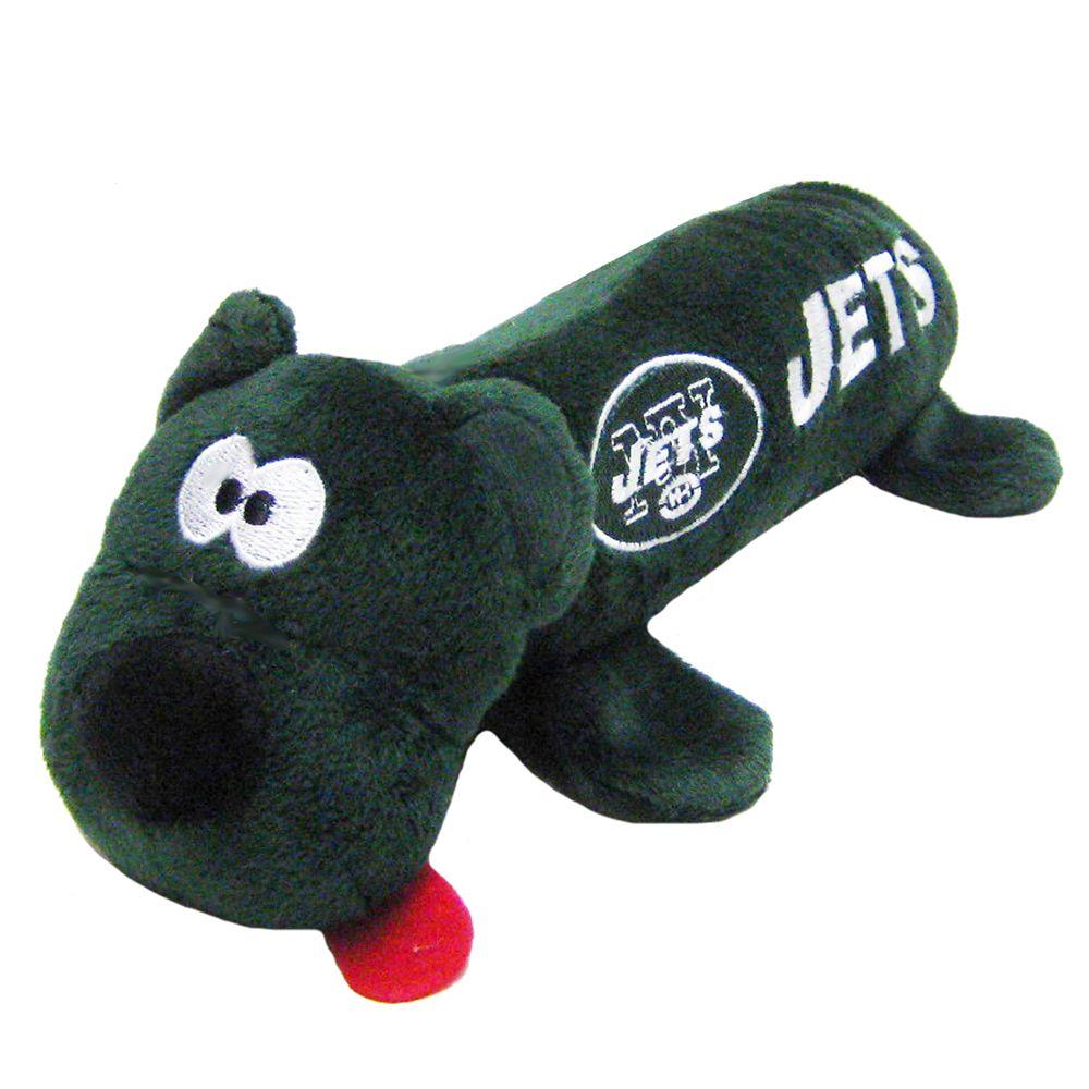 New York Jets NFL Tube Dog Toy, Green 5234290