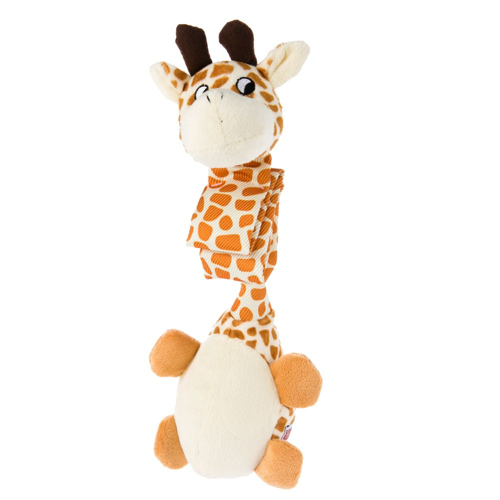 danglers giraffe dog toy