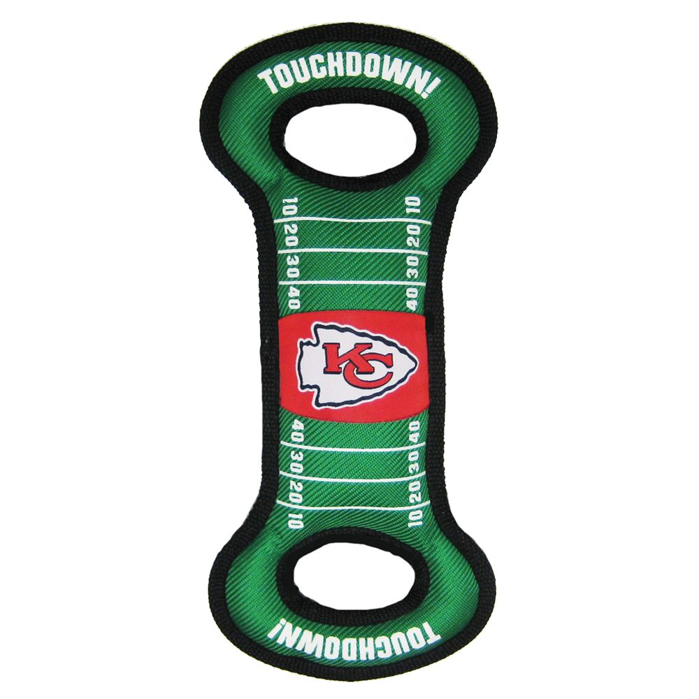Kansas City Chiefs NFL Field Dog Toy, Pets First 5234335
