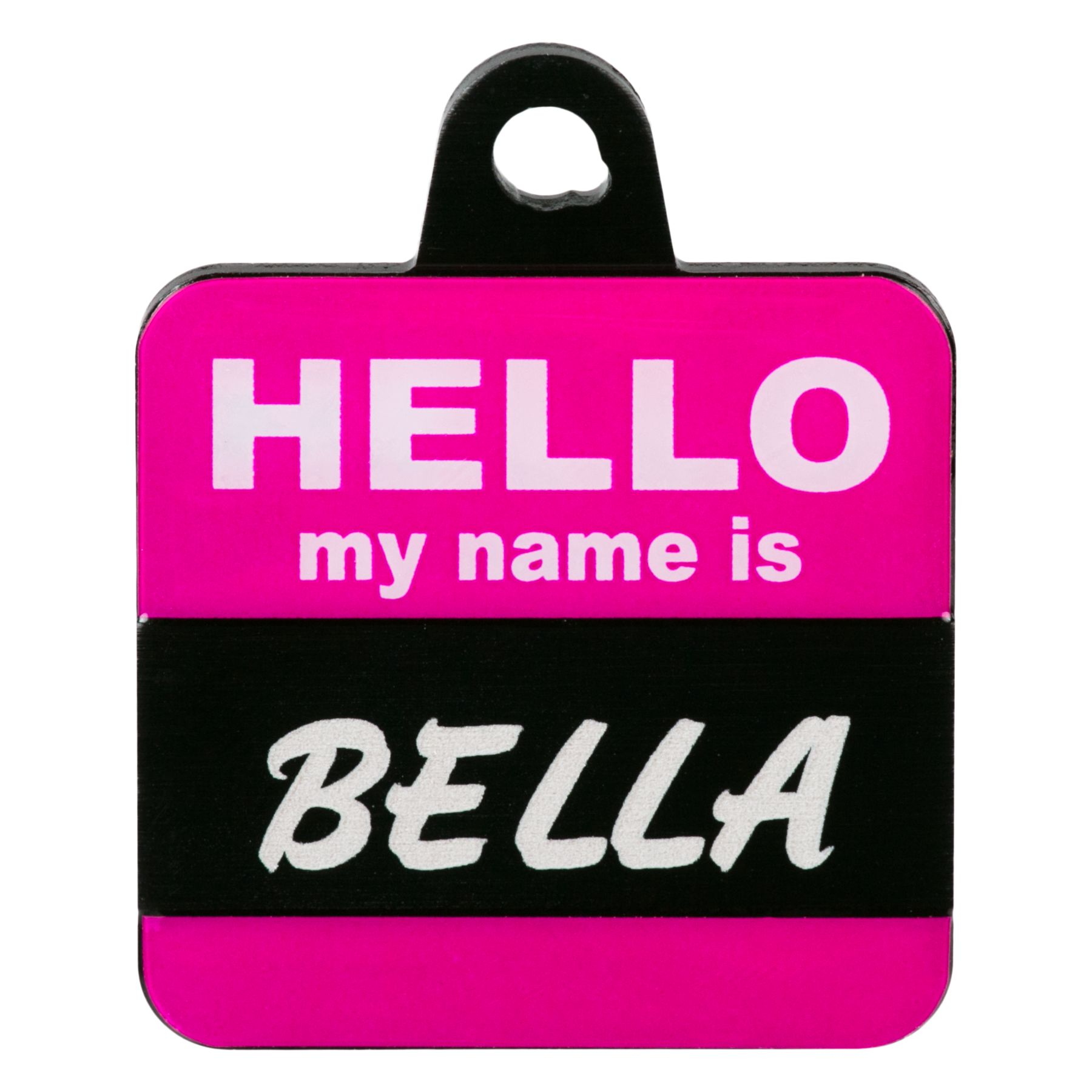 TagWorks® Hello My Name Is Personalized Pet ID Tag, Pink 5234712