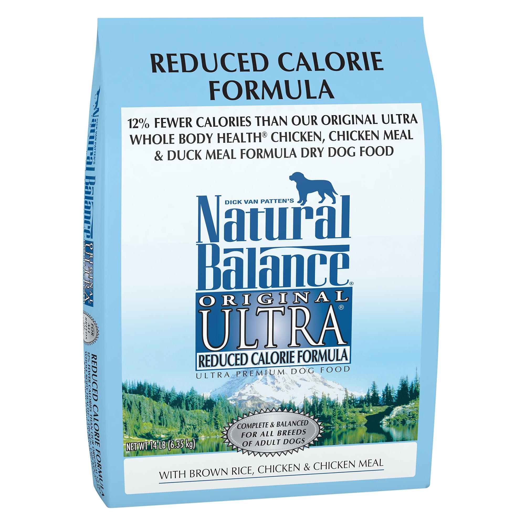 Natural Balance Original Ultra Reduced Calorie Formula Adult Dog Food size: 14 Lb, Chicken, Kibble, Brown Rice 5234854