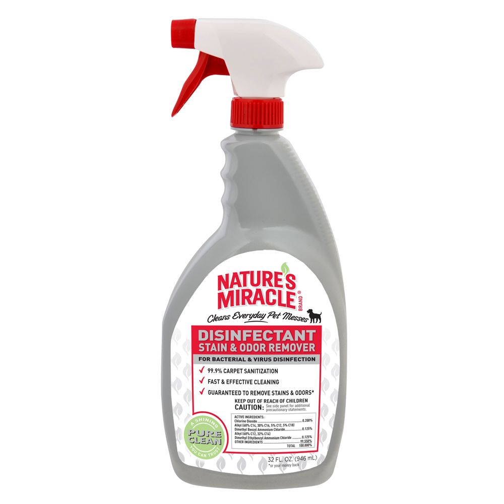 Countryside's Miracle Disinfectant Stain and Odor Remover Dog Solution size: 32 Fl Oz