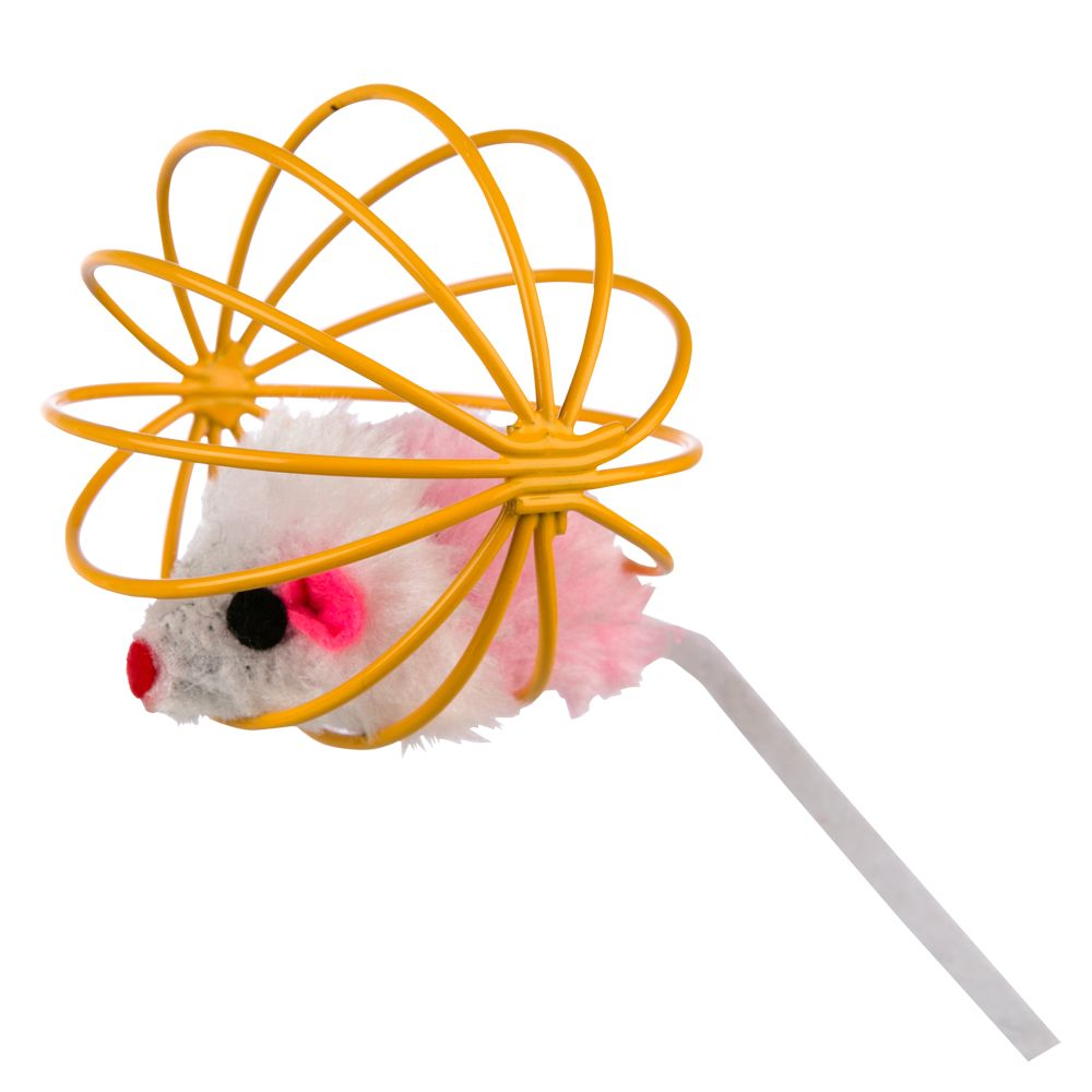 Grreat Choice, Mouse Cage Cat Toy 5235036
