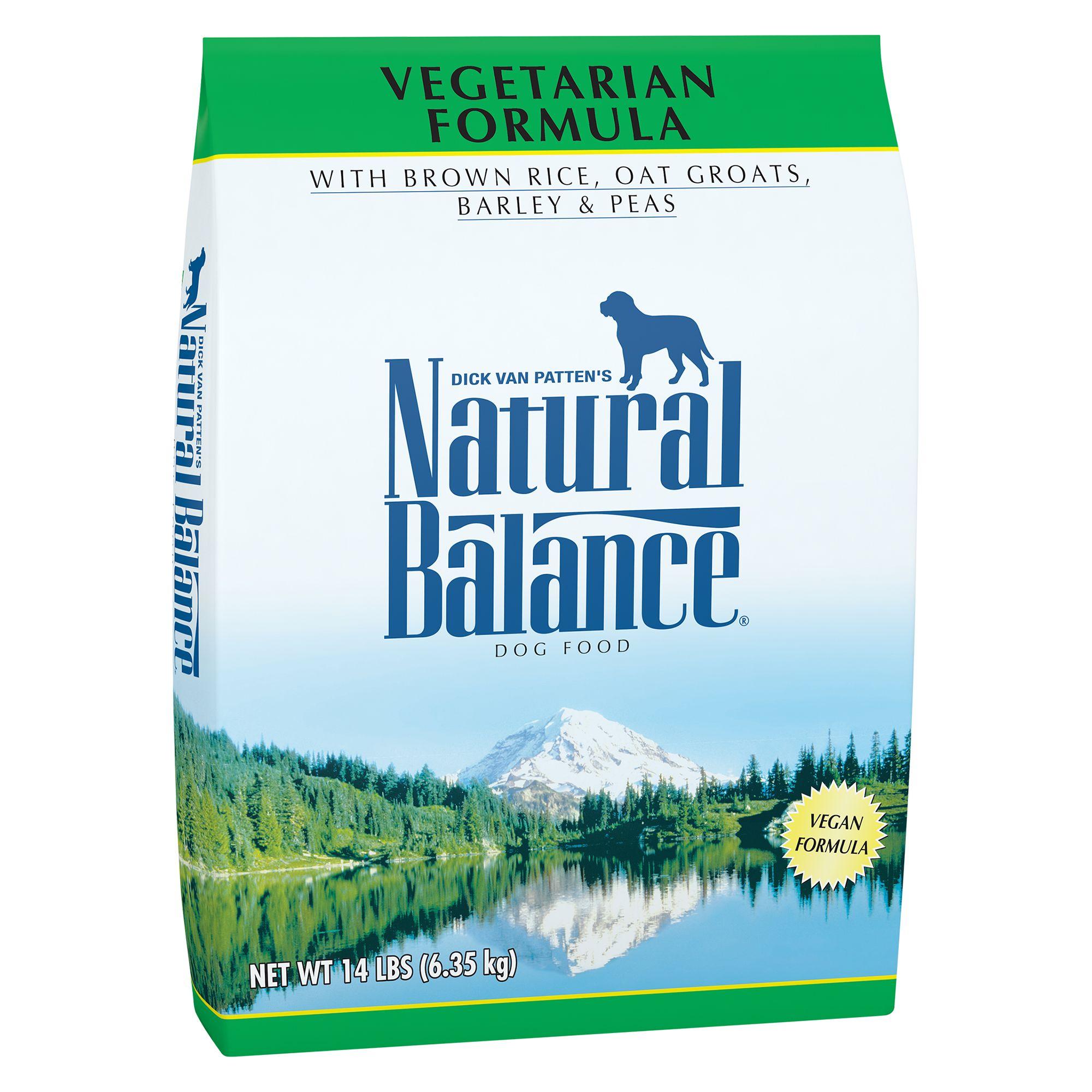 Natural Balance Dog Food - Vegetarian, Vegan size: 14 Lb 5235075