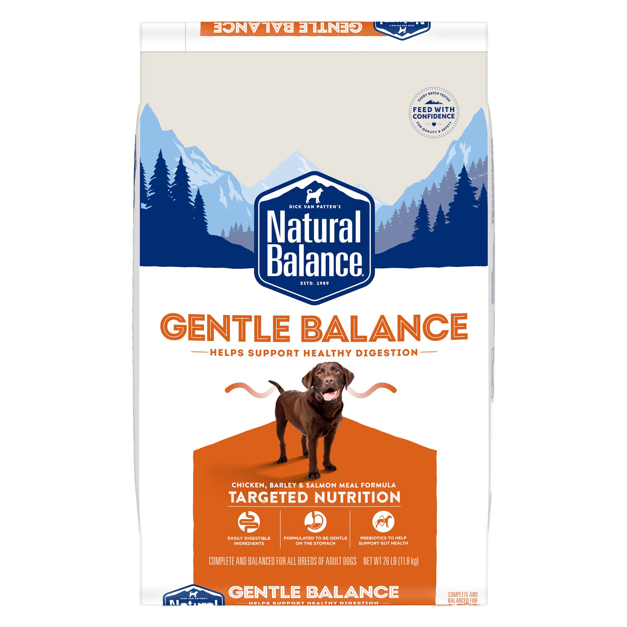 Natural Balance Synergy Ultra Premium Dog Food - Chicken, Lamb Meal and Salmon Meal size: 26 Lb 5235076