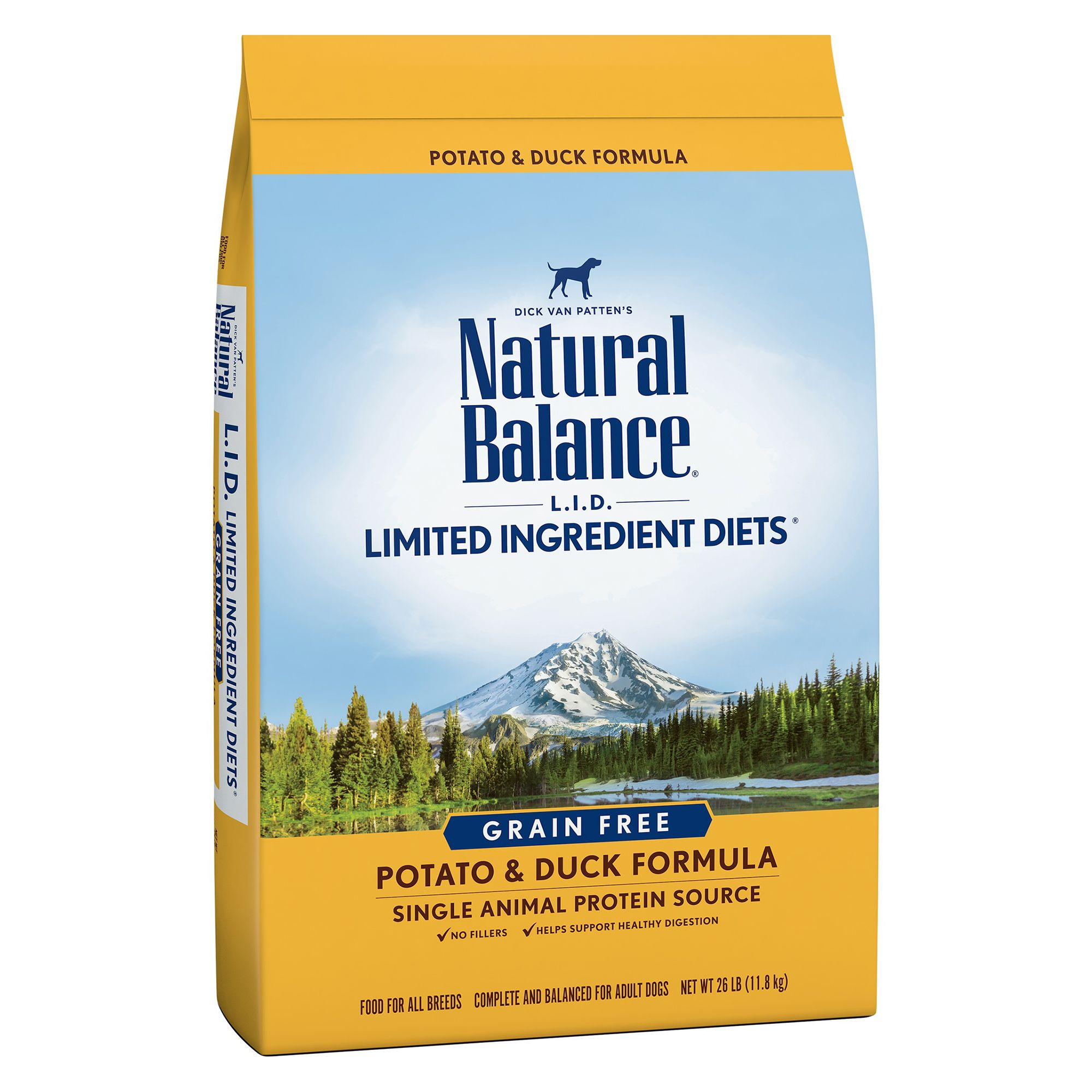 Natural Balance Dry Dog Food Grain Free Limited Ingredient