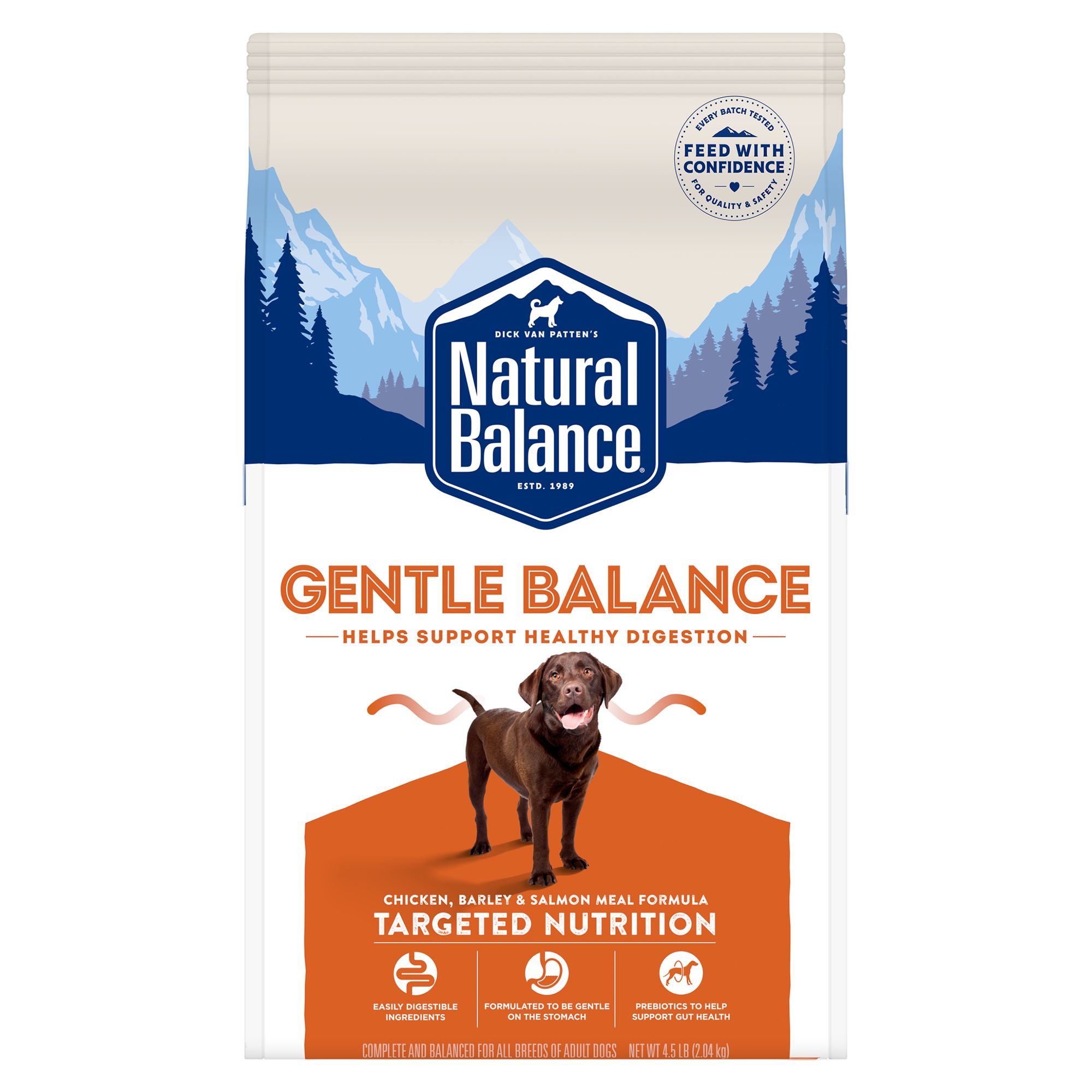 Natural Balance Synergy Ultra Premium Dog Food - Chicken, Lamb Meal and Salmon Meal size: 4.5 Lb 5235120