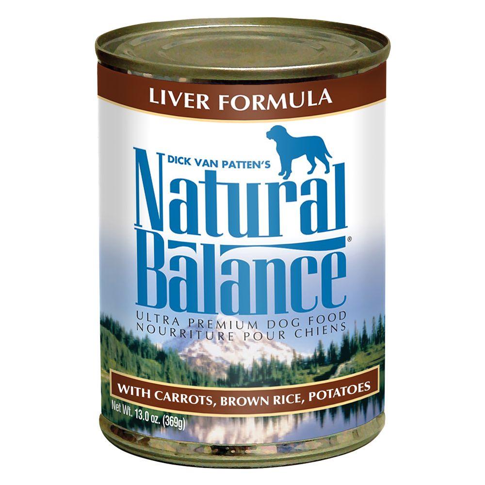 Natural Balance Ultra Premium Dog Food - Liver size: 13 Oz