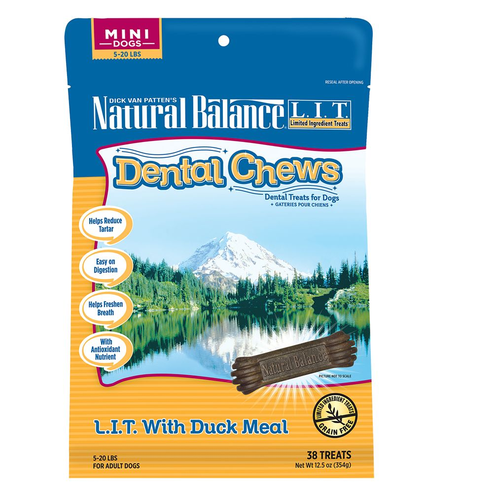 Natural Balance Limited Ingredient Grain Free Duck Meal Mini