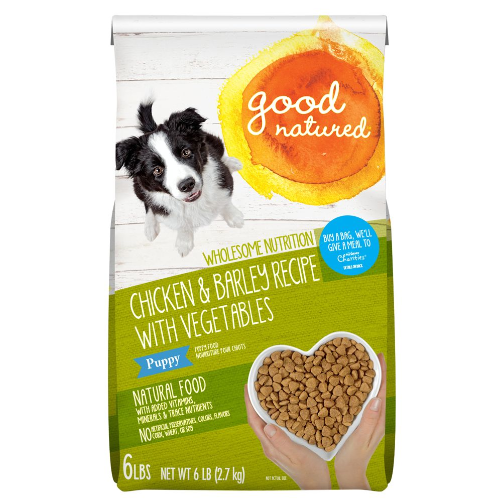 Good Natured Puppy Food Natural Chicken And Barley Size 6 Lb
