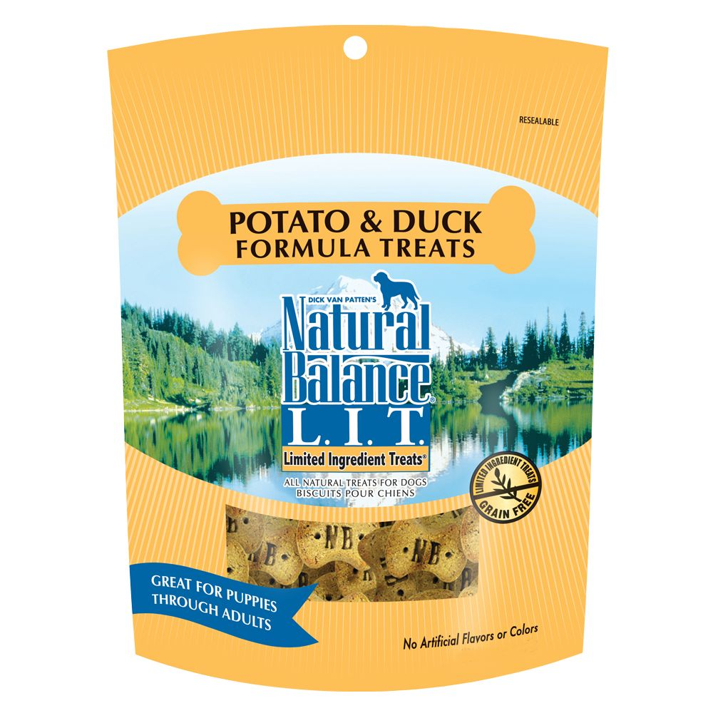 Natural Balance Pet Food L.I.T. Limited Ingredient Treats Fo