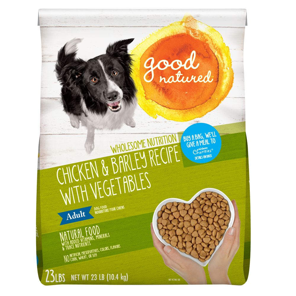 Good Natured Adult Dog Food Natural Chicken And Barley Size 23 Lb