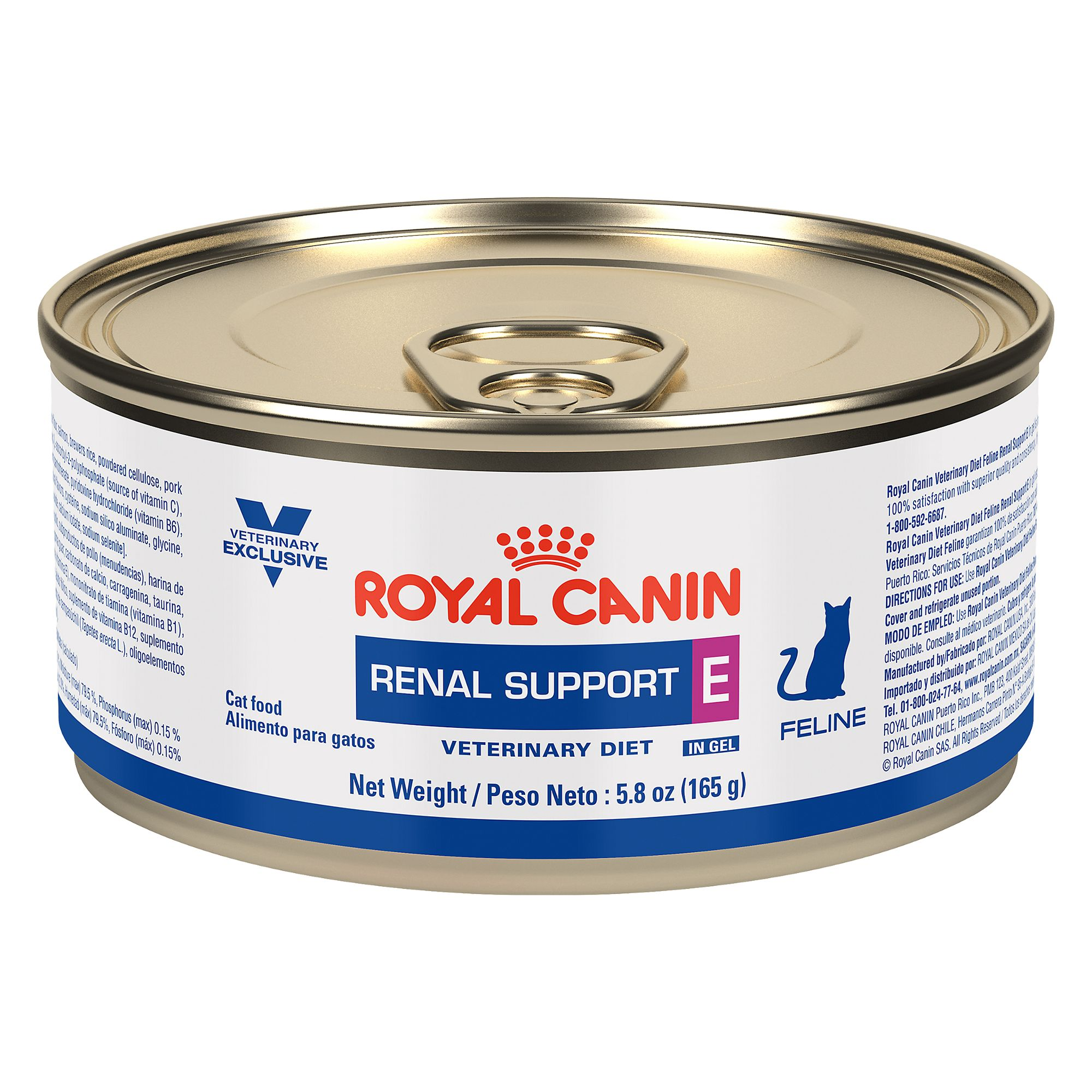 Duke Canin Veterinary Exclusive Diet Renal Support E Adult Cat Food size: 5.8 Oz, Wet