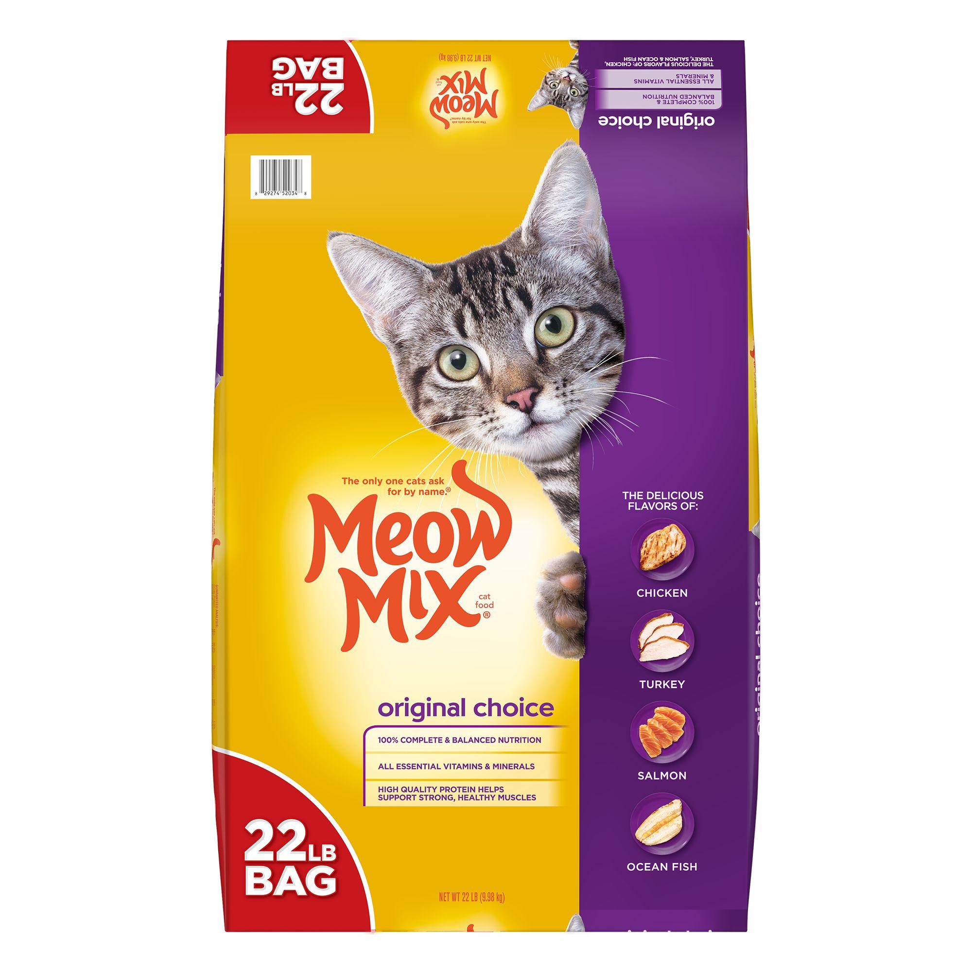 Meow Mix® Original Cat Food size: 22 Lb 5237332