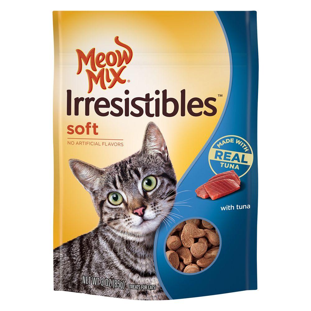 Meow Mix® Irresistibles Soft Tuna Cat Treat size: 3 Oz