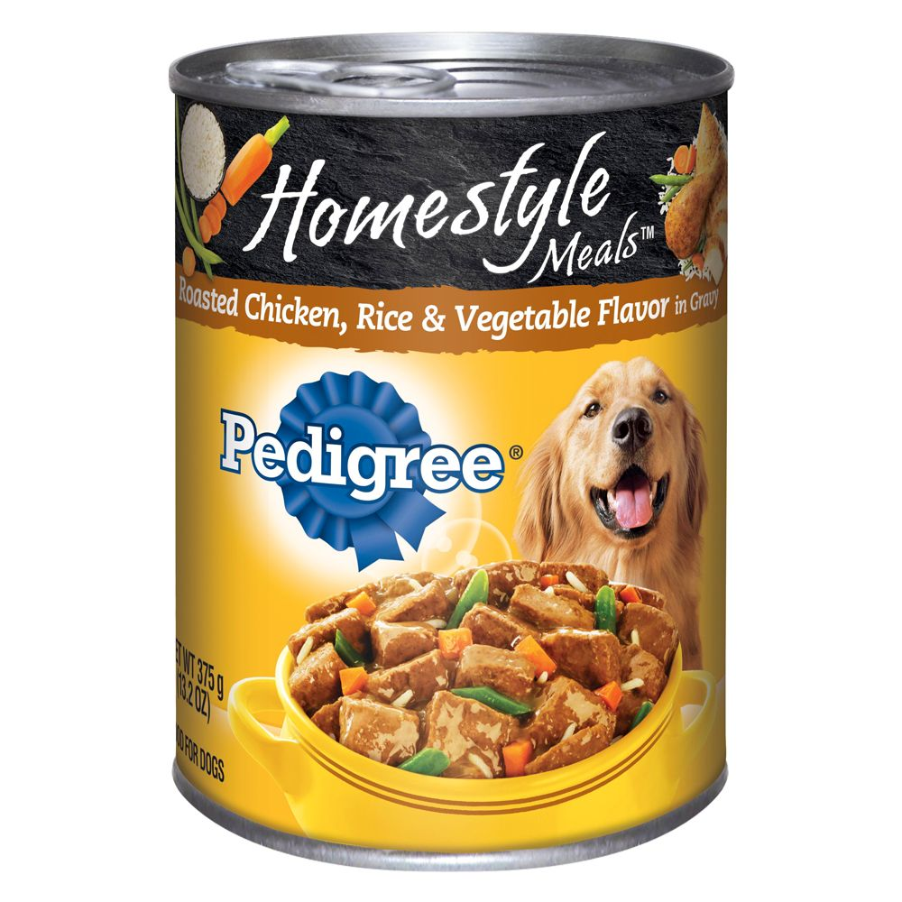 Pedigree® Homestyle Meals Adult Dog Food - Roasted Chicken, Rice and Vegetable 5237620