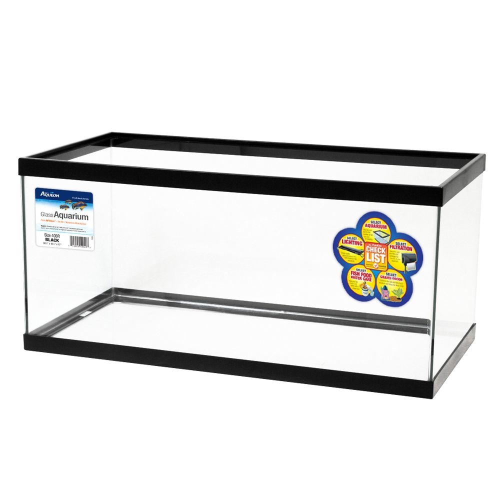 Aqueon® Glass Aquarium size: 40 Gal 5237664