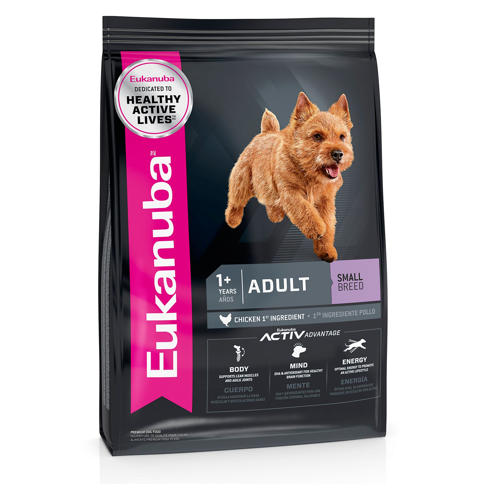 Eukanuba Adult Dog Food Chicken Small Breed Size 5 Lb