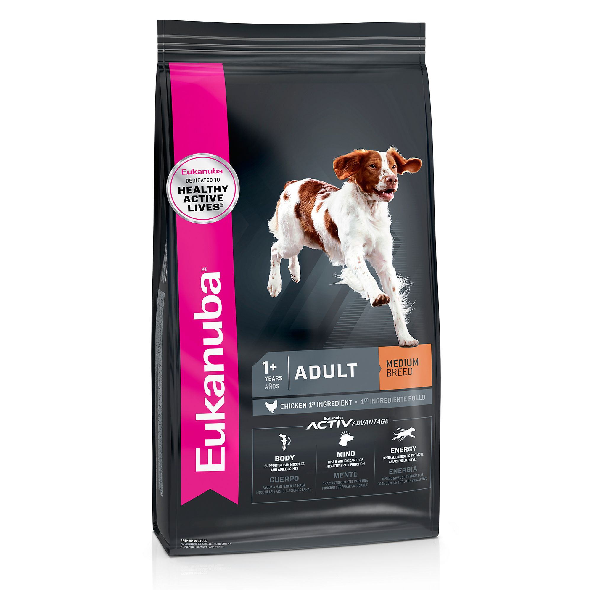 Eukanuba Adult Dog Food Chicken Size 5 Lb