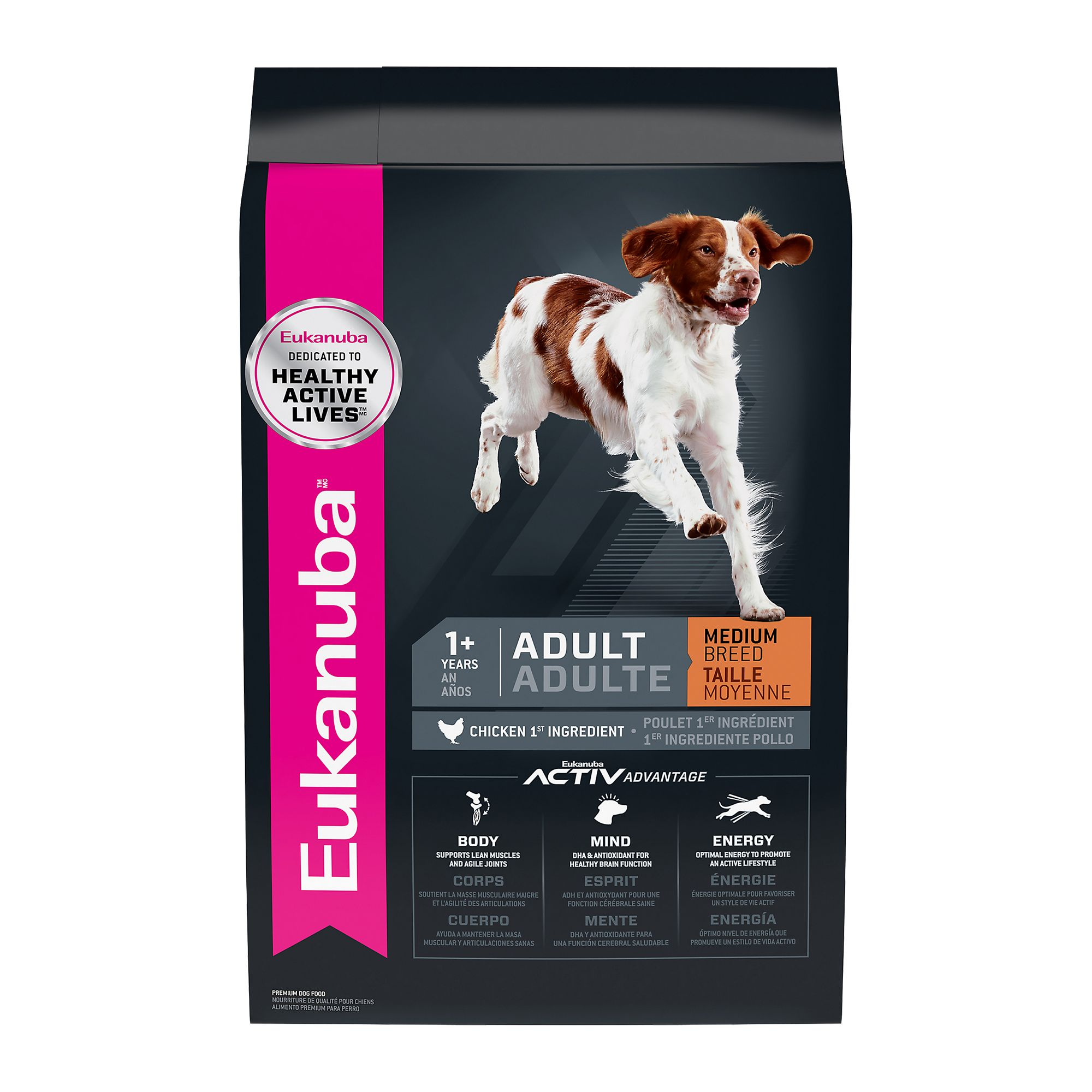 Eukanuba Adult Dog Food Chicken Size 30 Lb