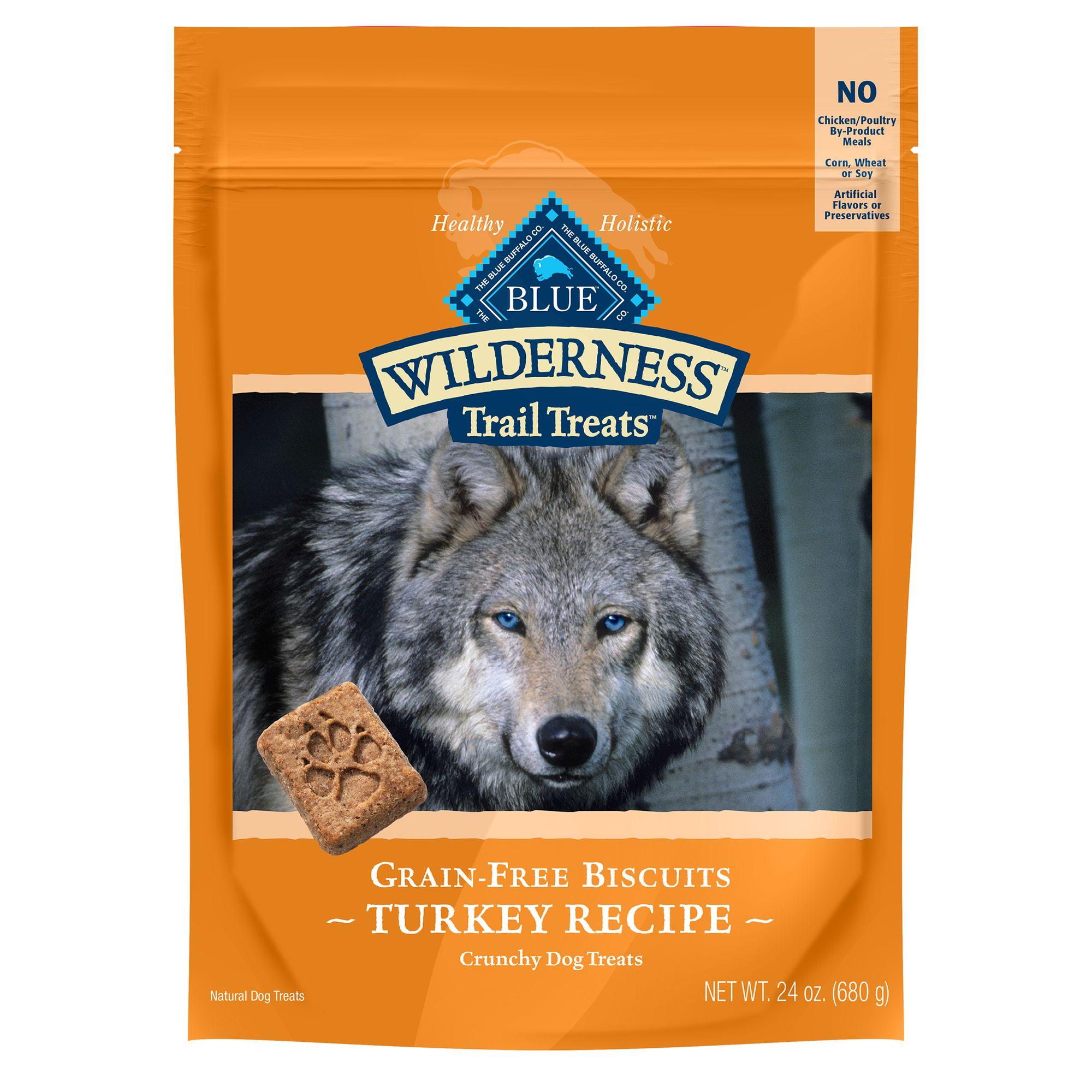 Blue Wilderness® Trail Treats Grain Free Turkey Dog Trea