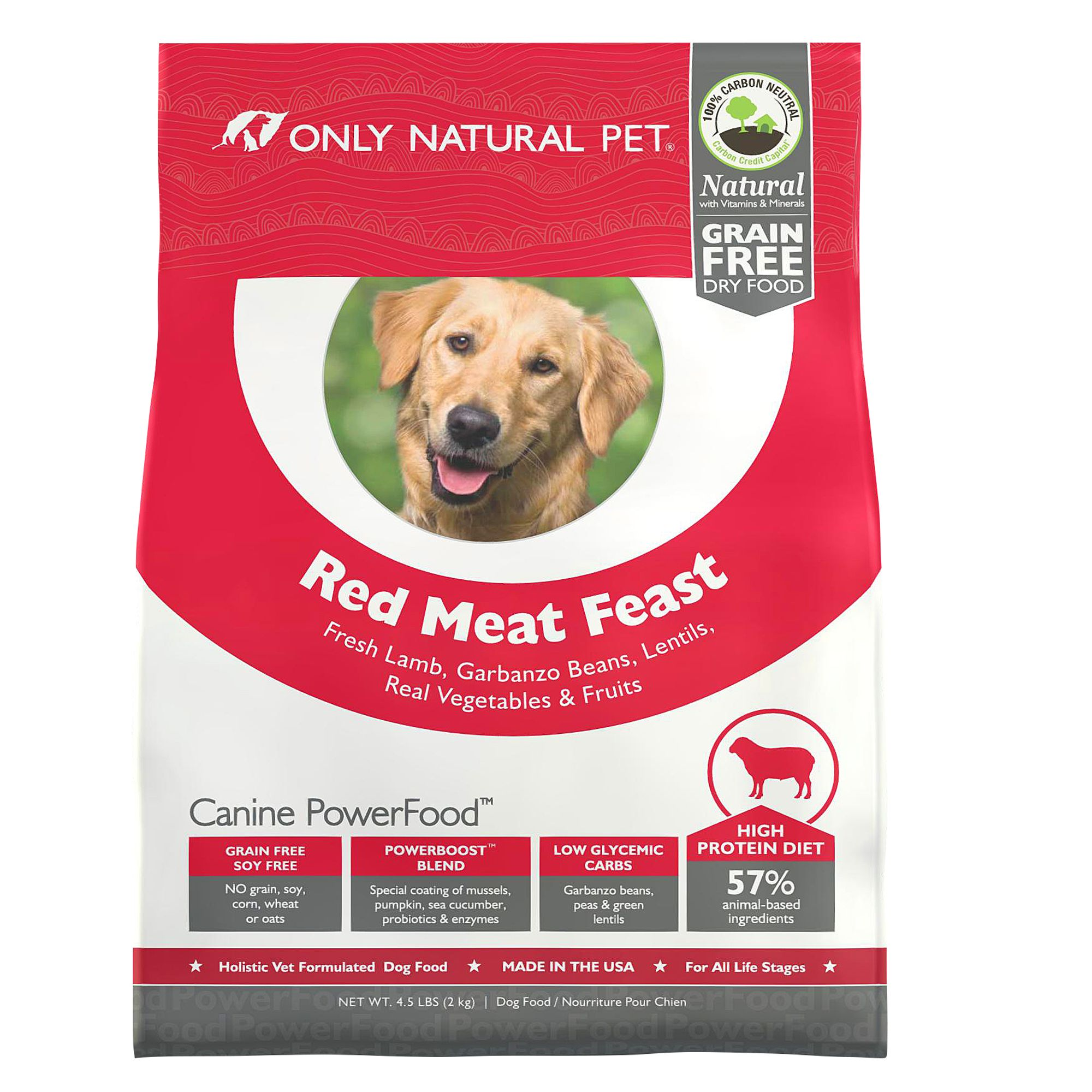 Only natural pet canine powerfood dog food limited for All natural pet cuisine