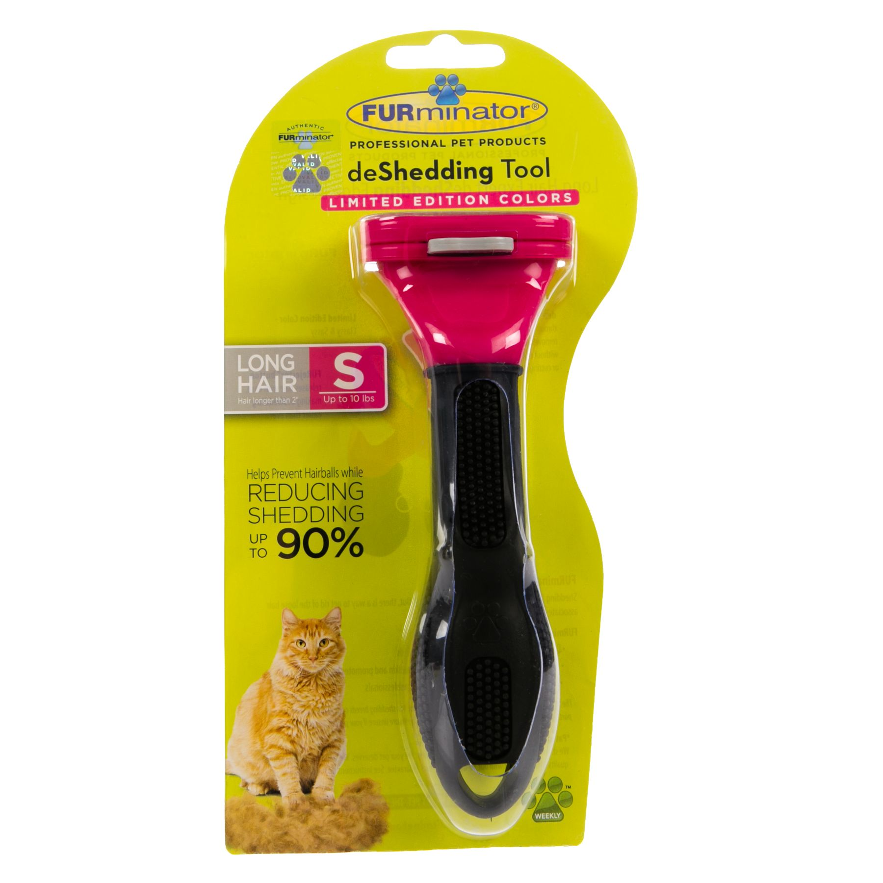 FURminator deShedding Long Haired Cat Tool size: Small 5238718