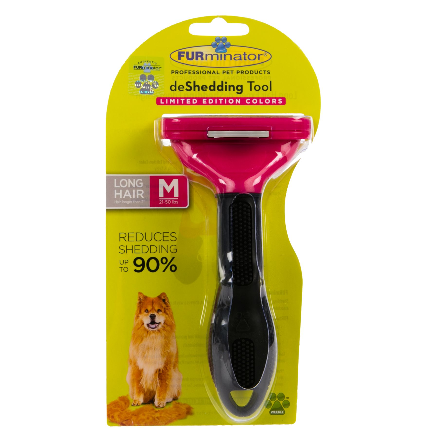 FURminator deShedding Long Haired Dog Tool size: Medium 5238721