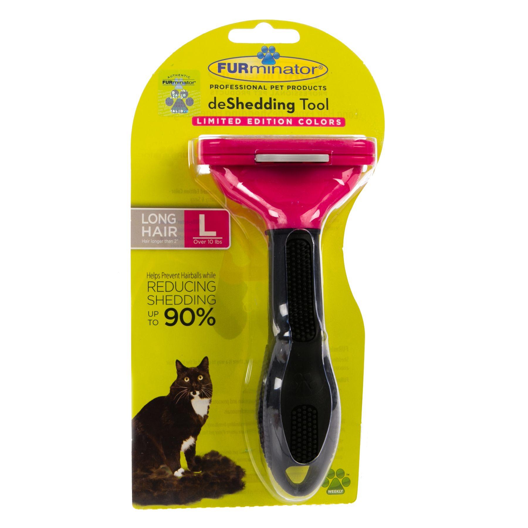 FURminator deShedding Long Haired Cat Tool size: Large 5238723